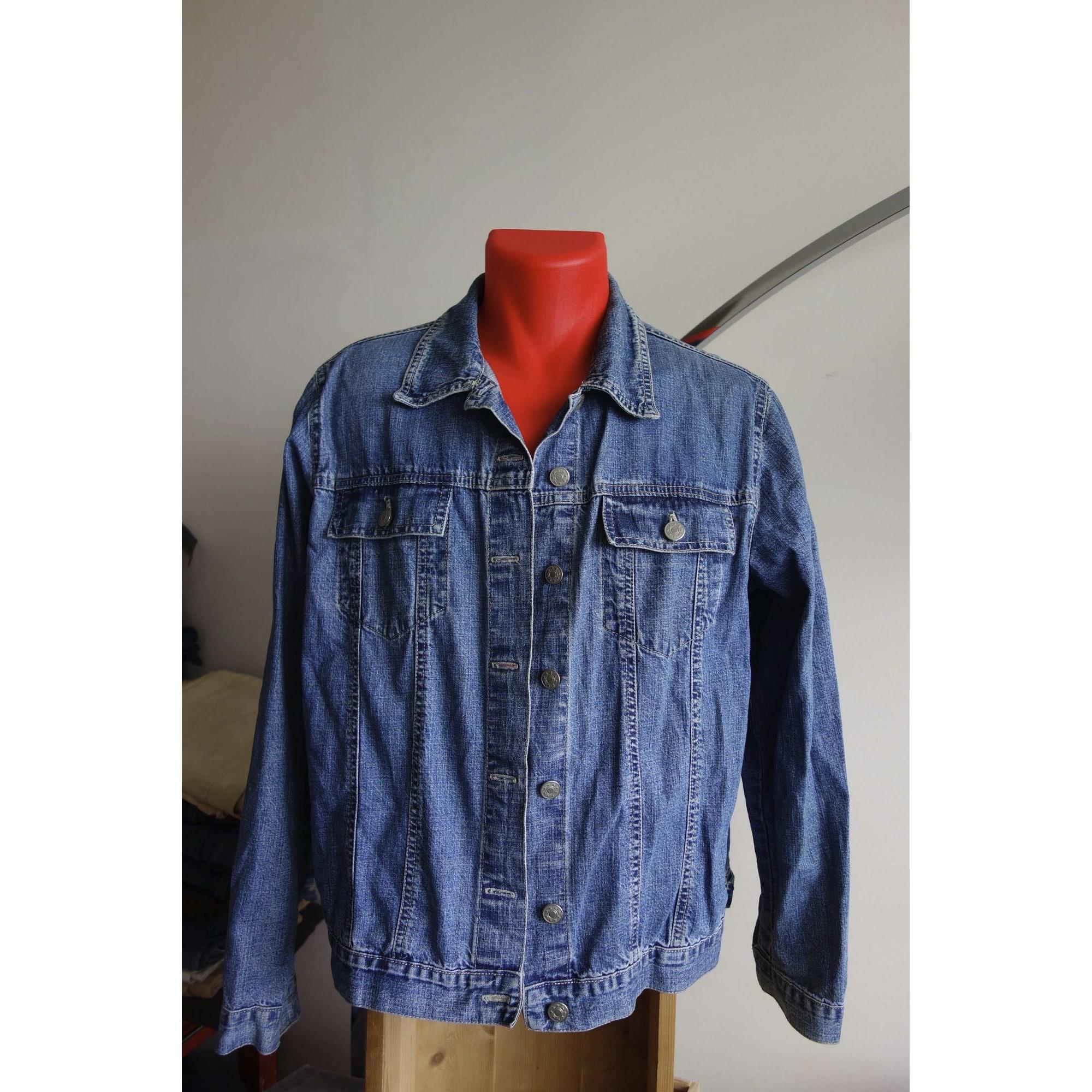 Veste en jean MARKS & SPENCER Bleu, bleu marine, bleu turquoise