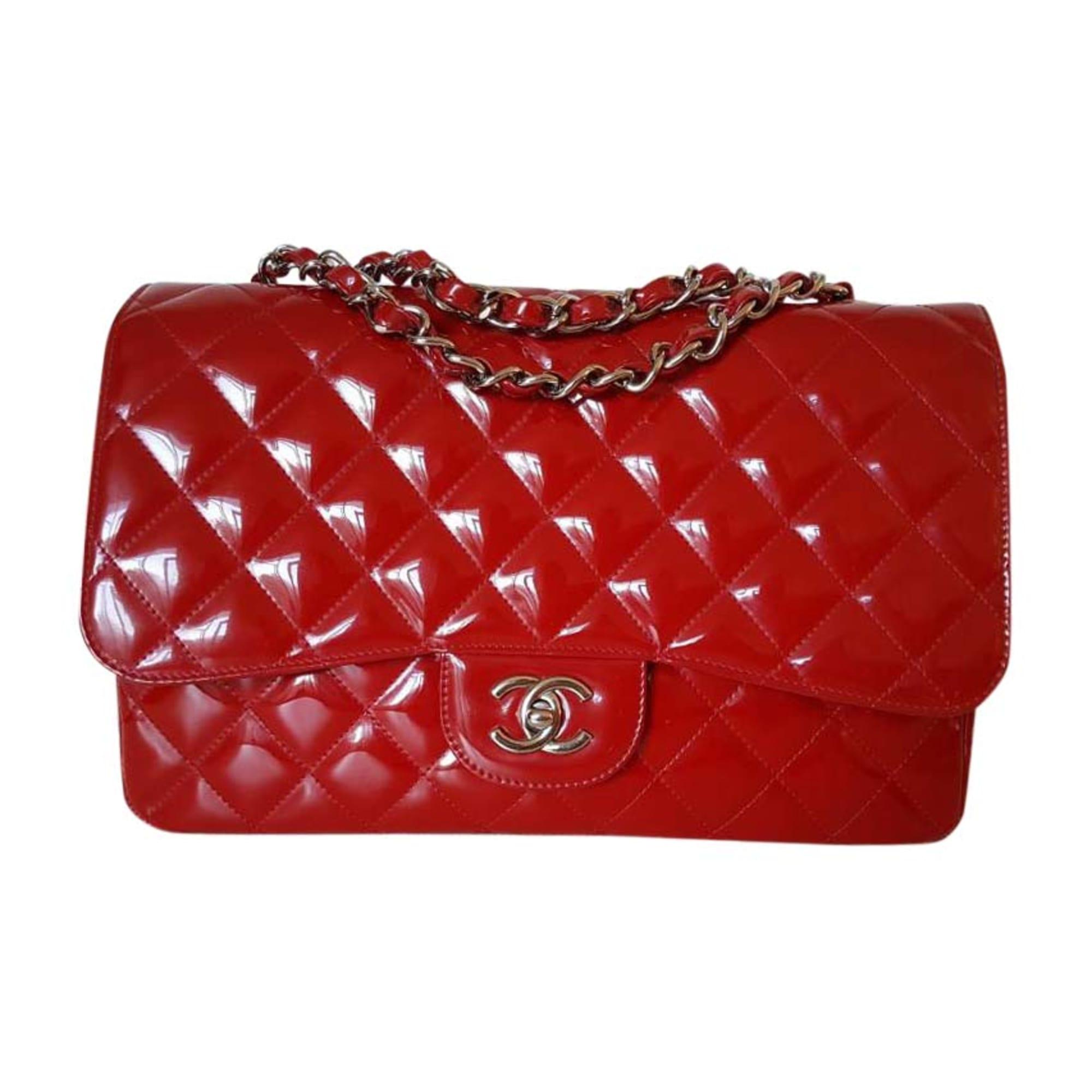 4ede16f799b543 Sac en bandoulière en cuir CHANEL 2.55 Rouge, bordeaux
