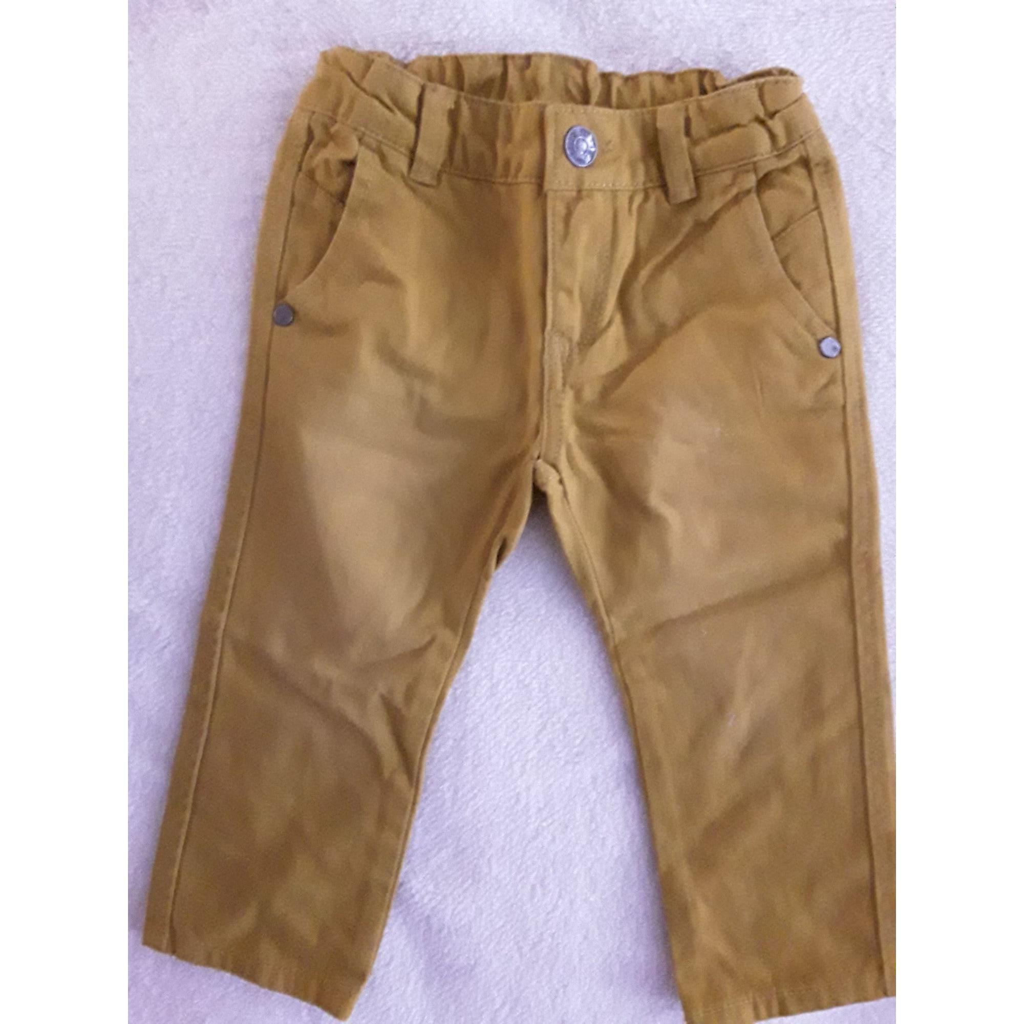 Pantalon CHICCO Jaune