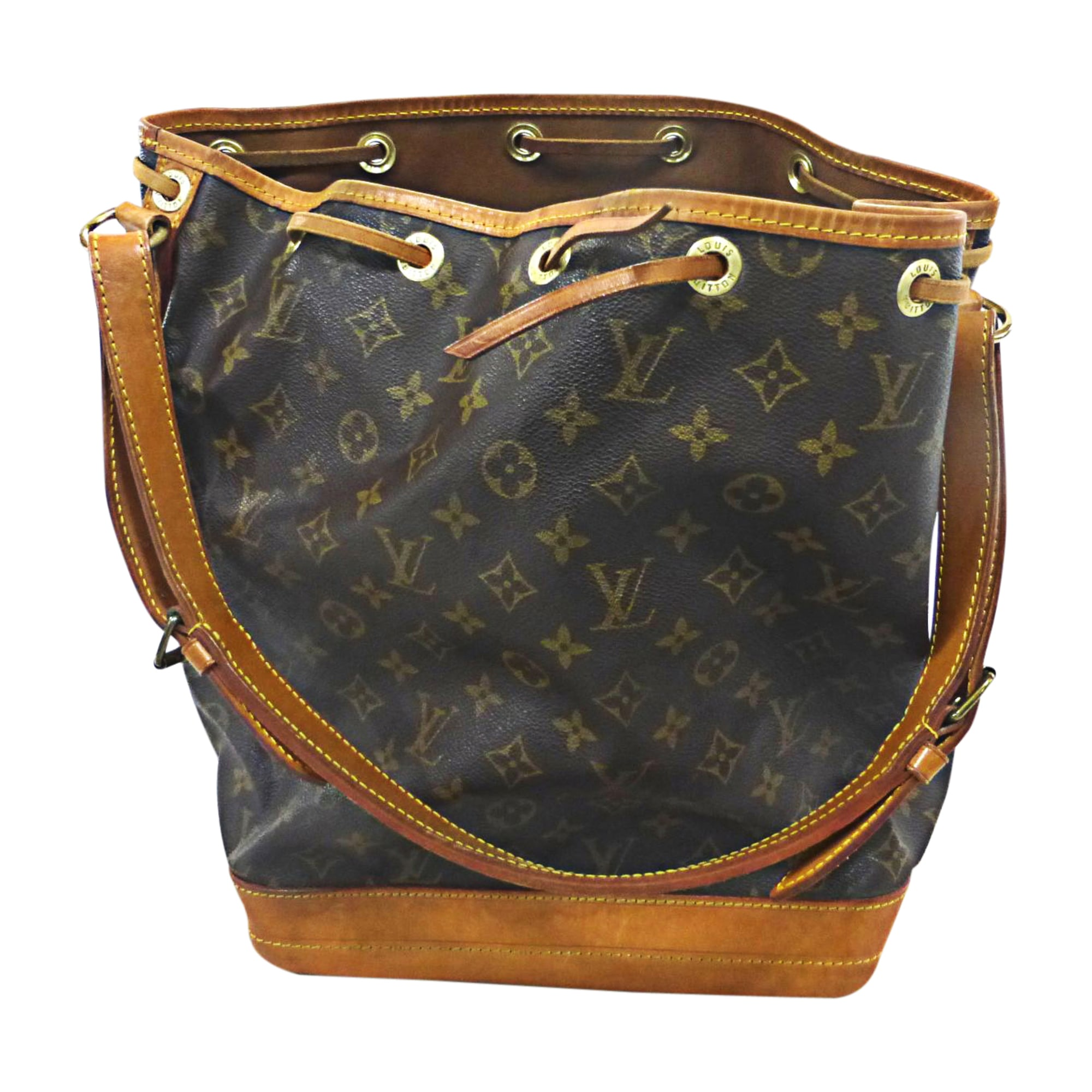 Sac à main en cuir LOUIS VUITTON no marron vendu par Bibag - 7849694 247b503bb32