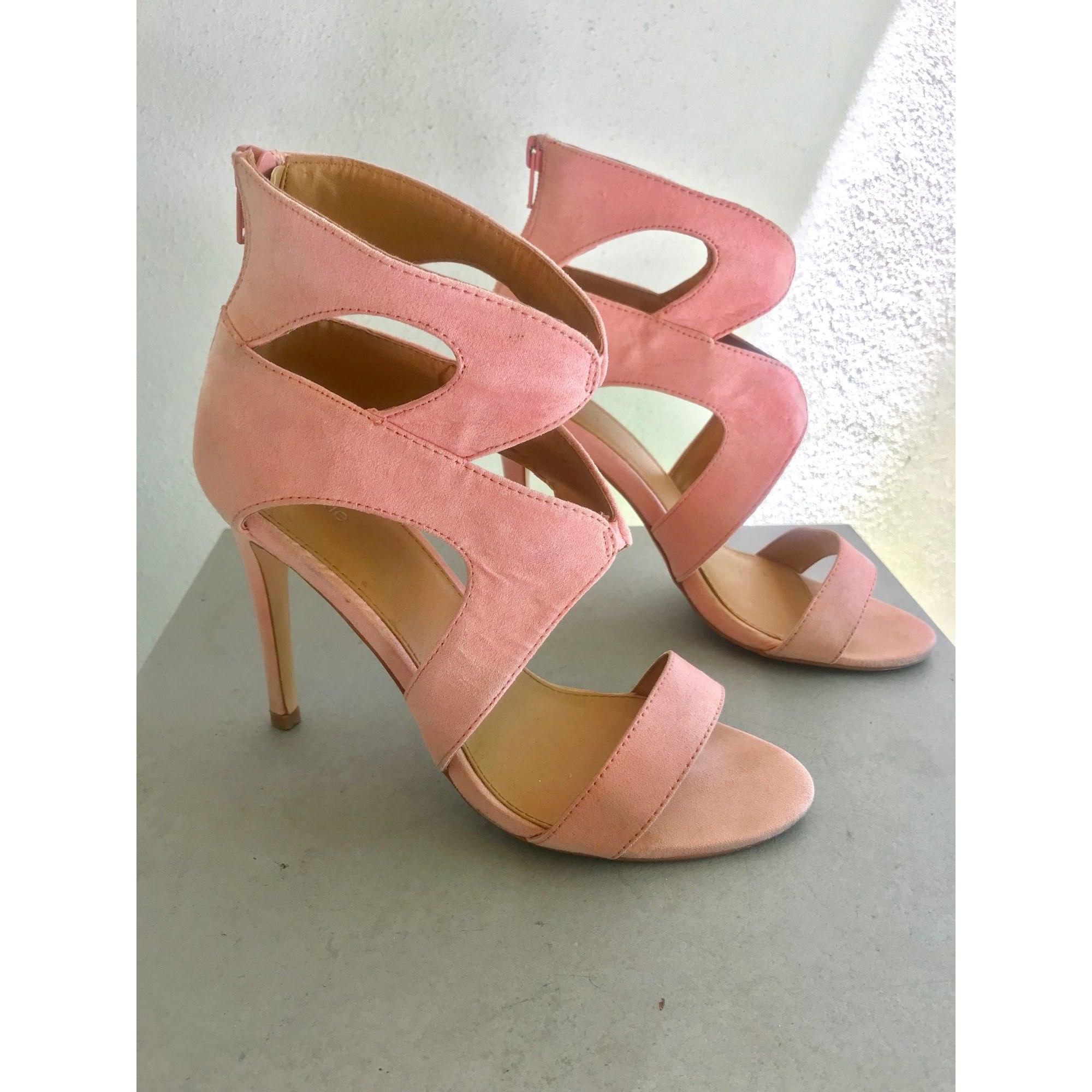 72ad21ae23 Heeled Sandals PIMKIE Pink, fuchsia, light pink