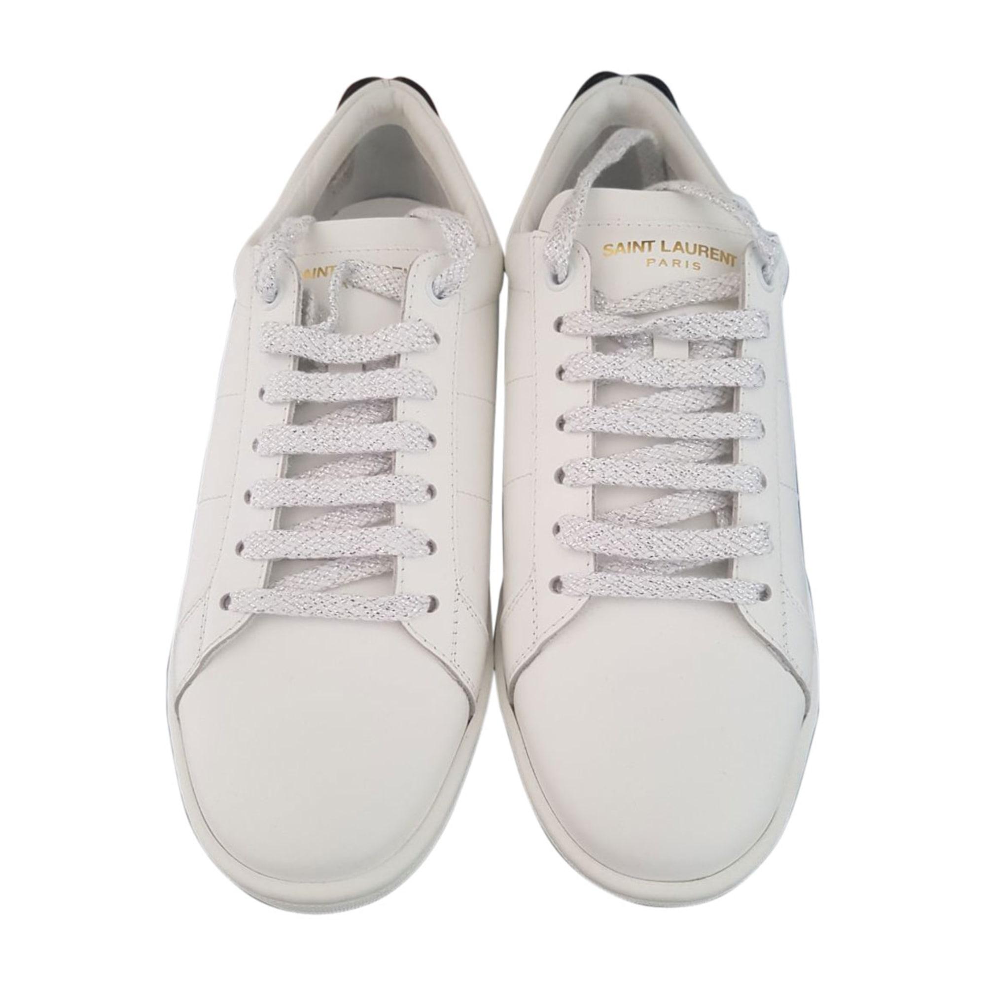 Sneakers YVES SAINT LAURENT Weiß, elfenbeinfarben
