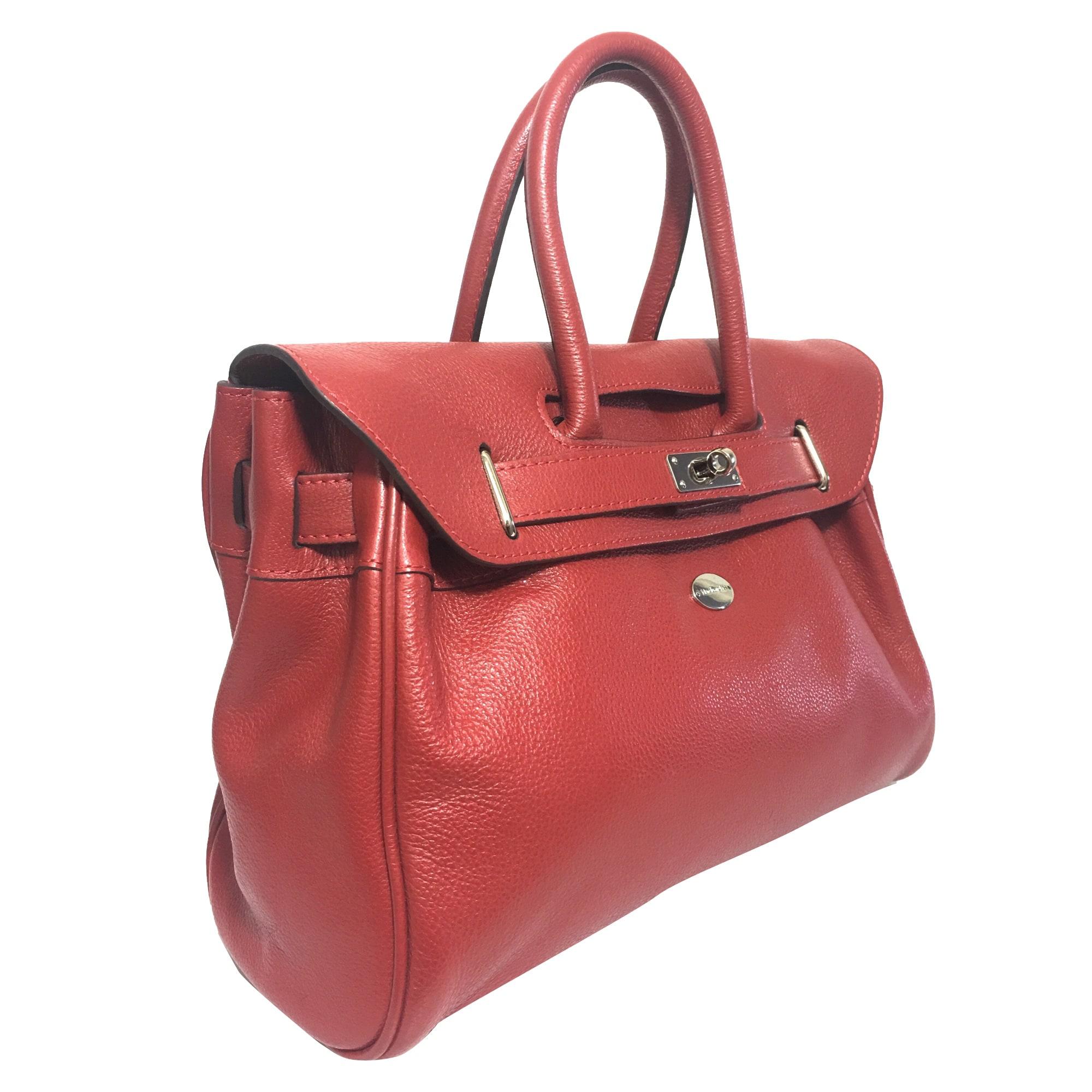 f8b4796545 Sac à main en cuir MAC DOUGLAS rouge vendu par Zara 82 - 7851676