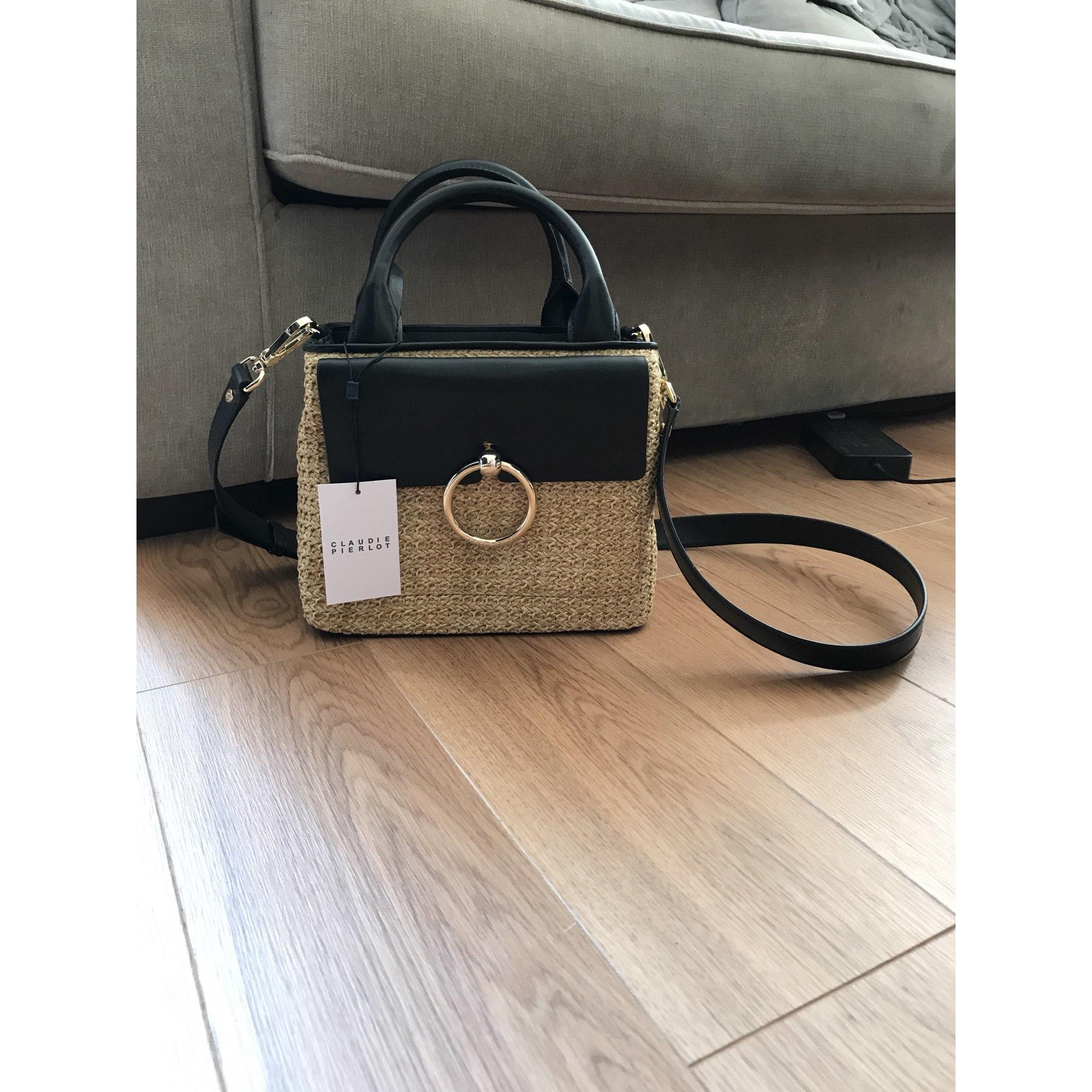 1b0071917455 Sac en bandoulière en cuir CLAUDIE PIERLOT noir vendu par Magali ...