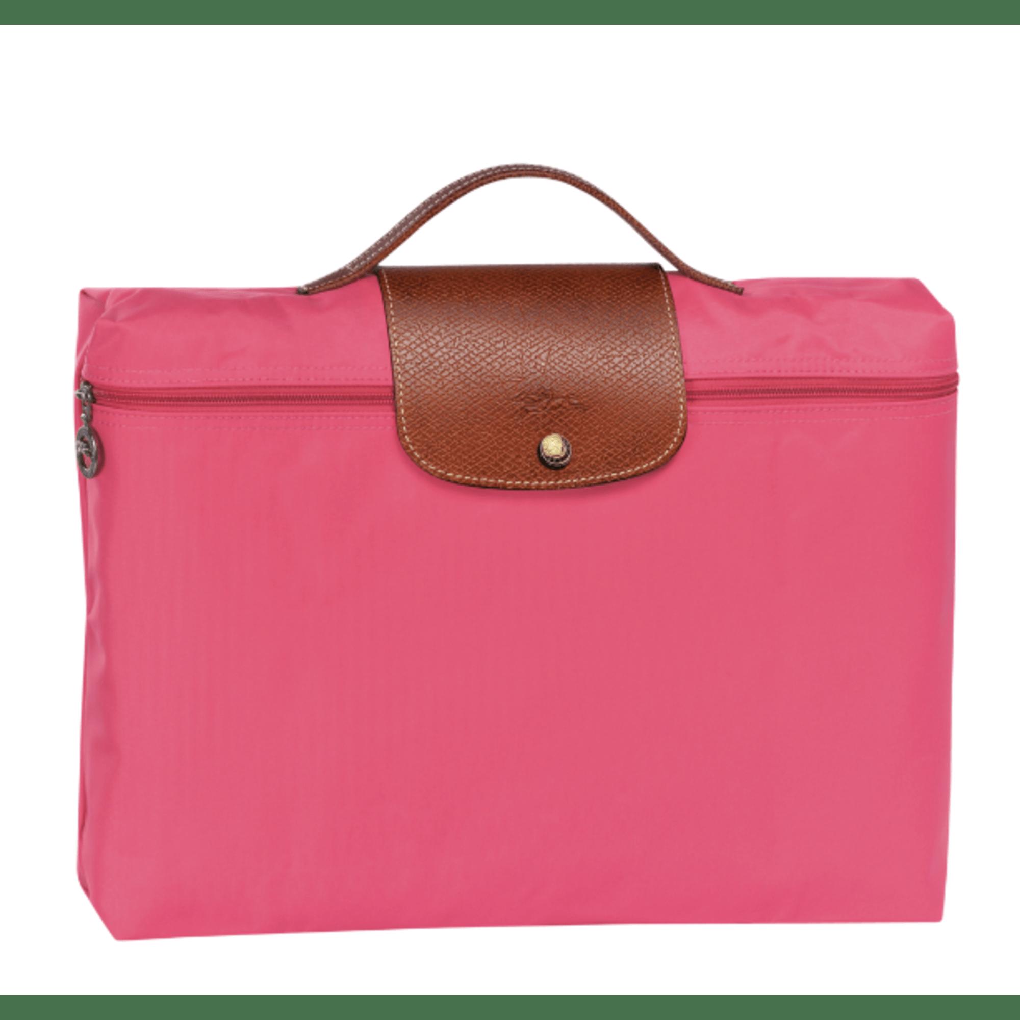Fuschia Rose Sac En Vieux Rose Longchamp Pochette Cuir xxqwpUH