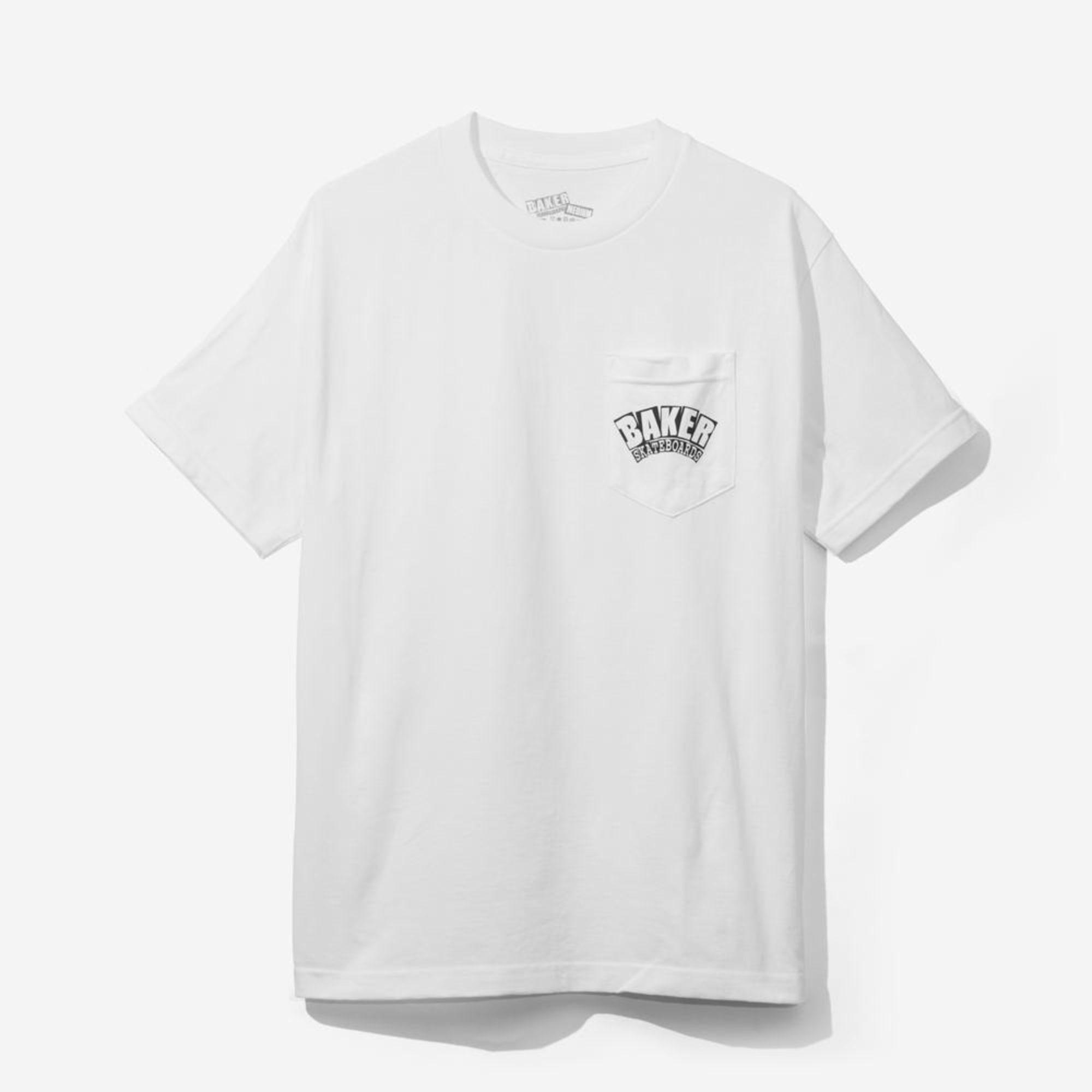 Baker 7858730 Skateboards 2mBlanc Tee Shirt bfvIm6gyY7