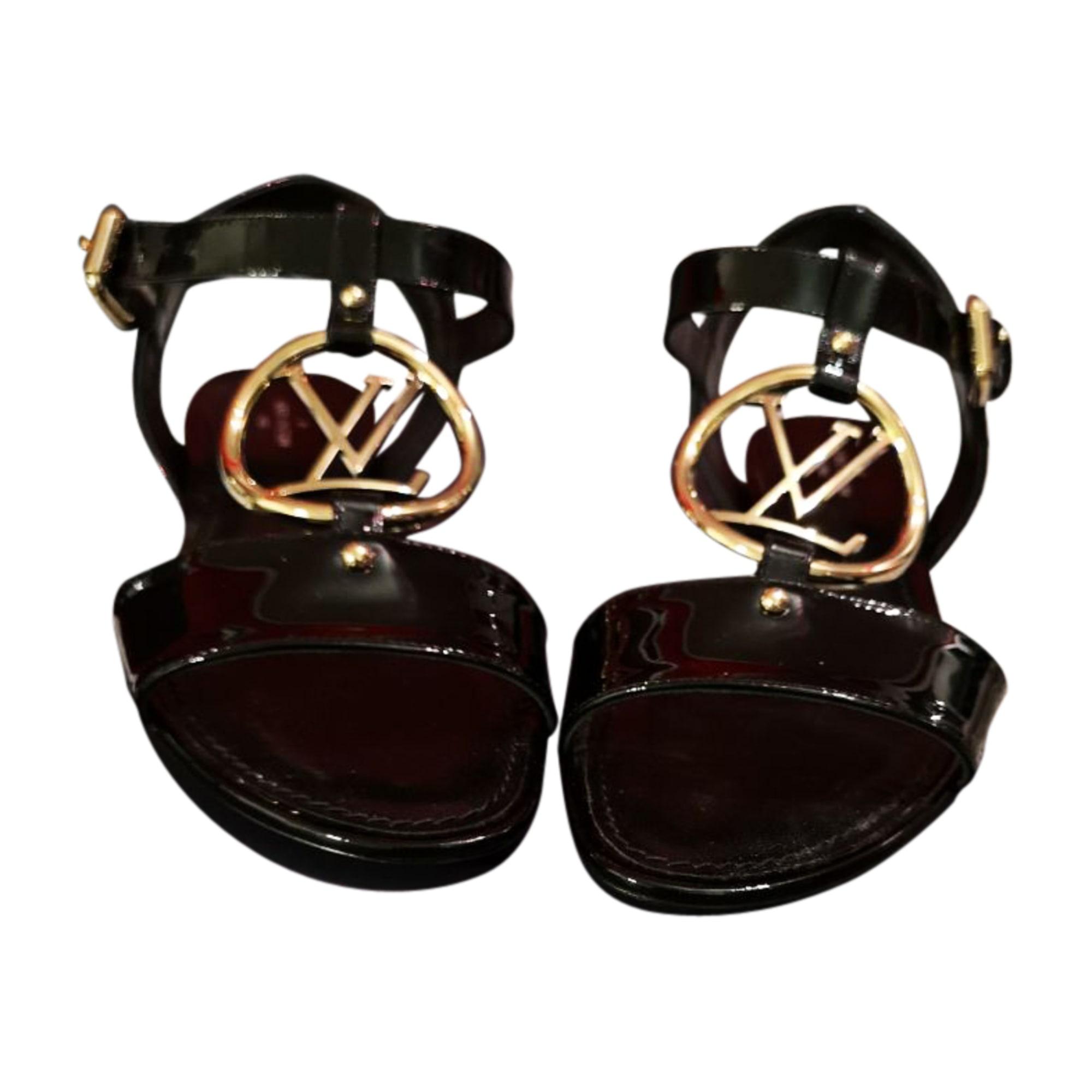 59470c648006e Flat Sandals LOUIS VUITTON 36 black vendu par Suzabelle169308 - 7859108