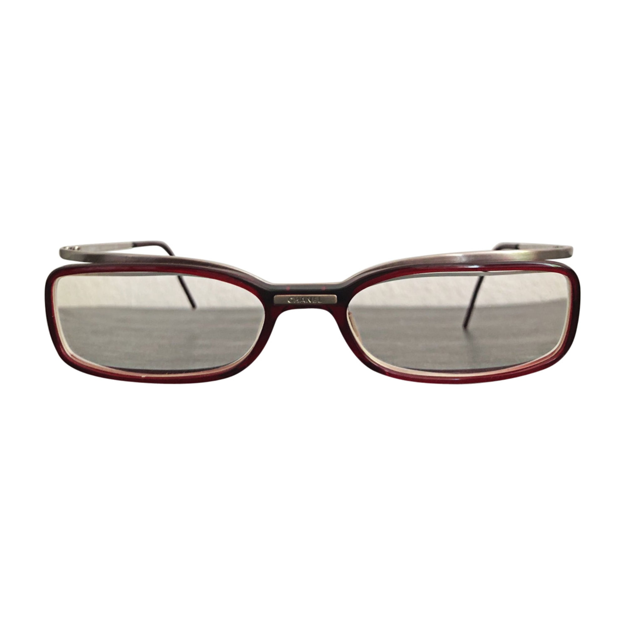 Eyeglass Frames CHANEL red - 7859974