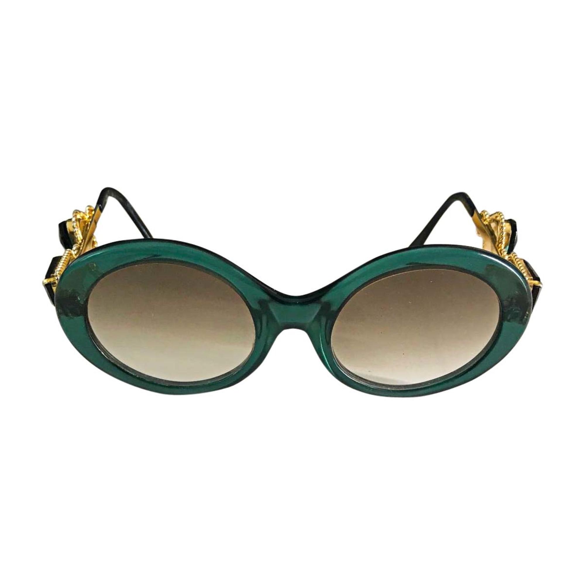 Sunglasses MOSCHINO Green