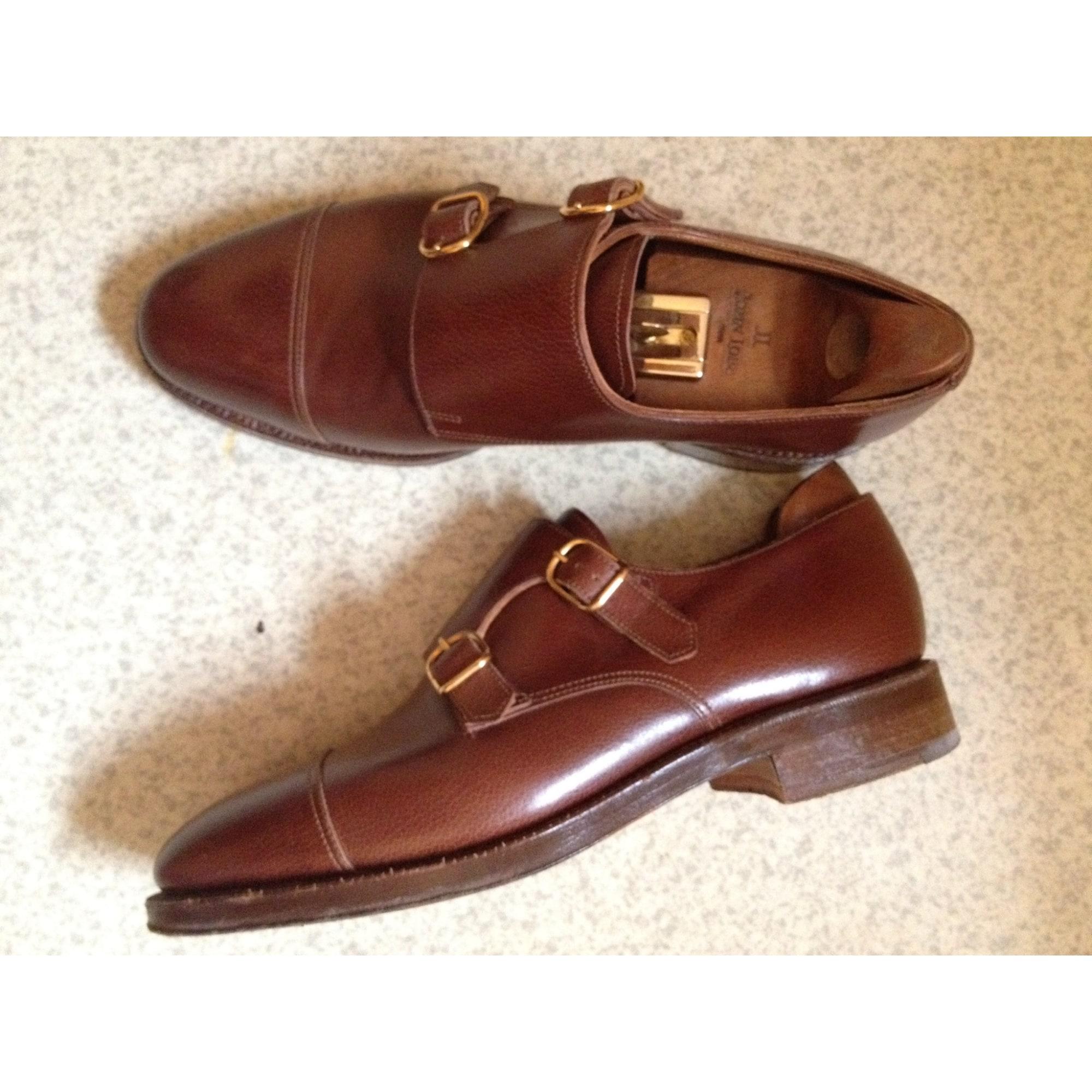 109994d0743a Chaussures à boucles JOHN LOBB 41 marron vendu par Sandra 7105844 ...