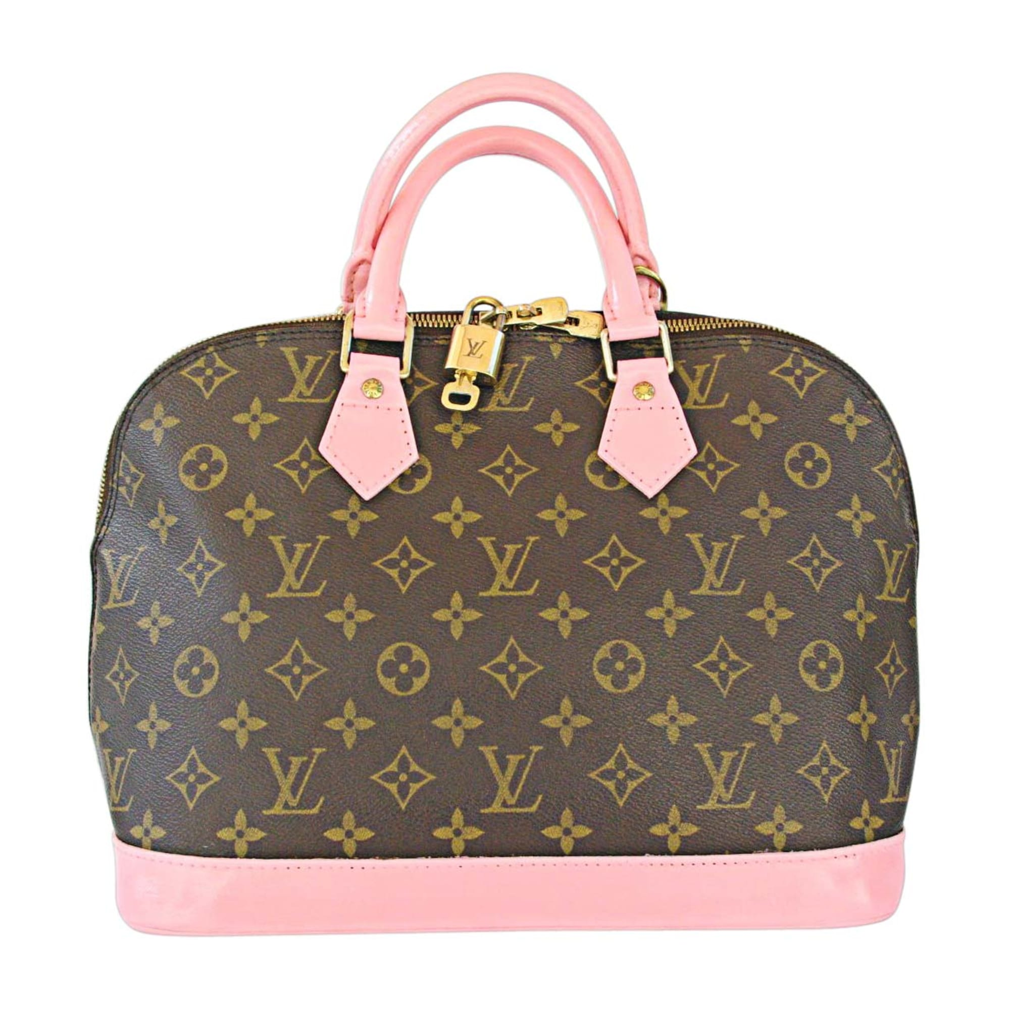 Sac à main en cuir LOUIS VUITTON alma rose vendu par L-comme-luxe ... 292ff7971701