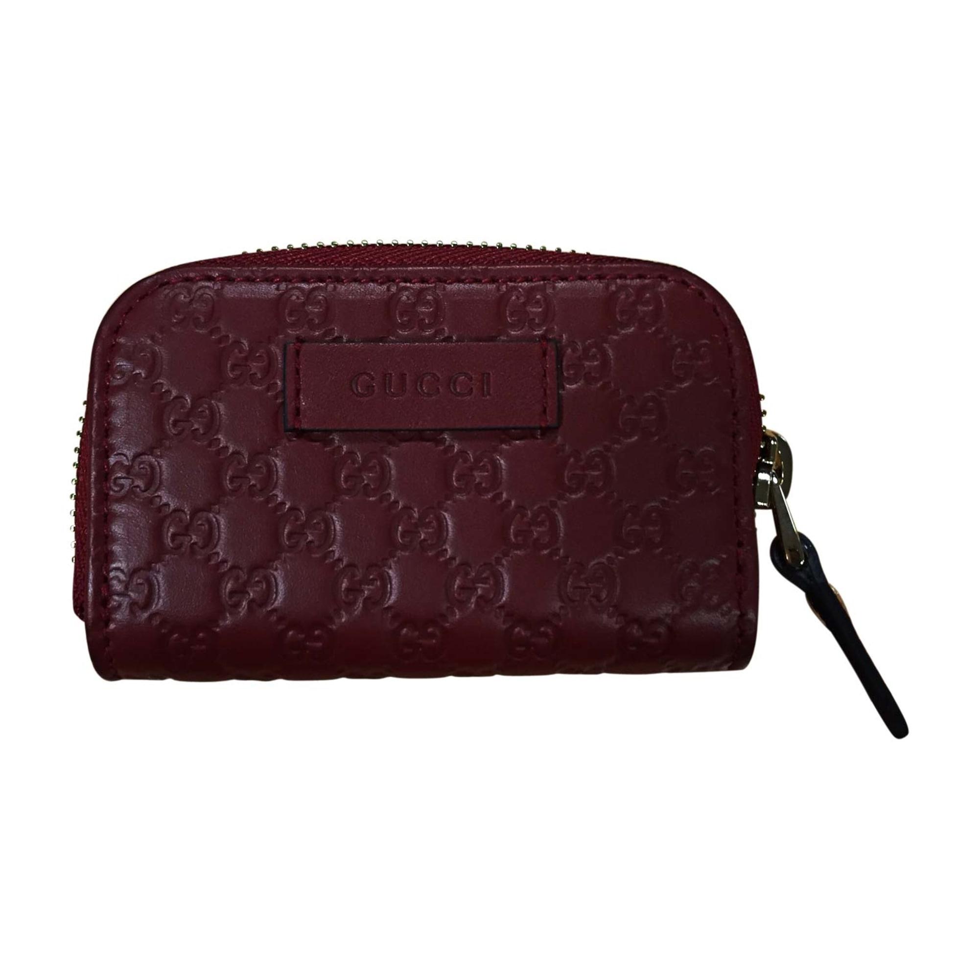Porte Monnaie Gucci Rouge Vendu Par Disabel 9287688 7866093