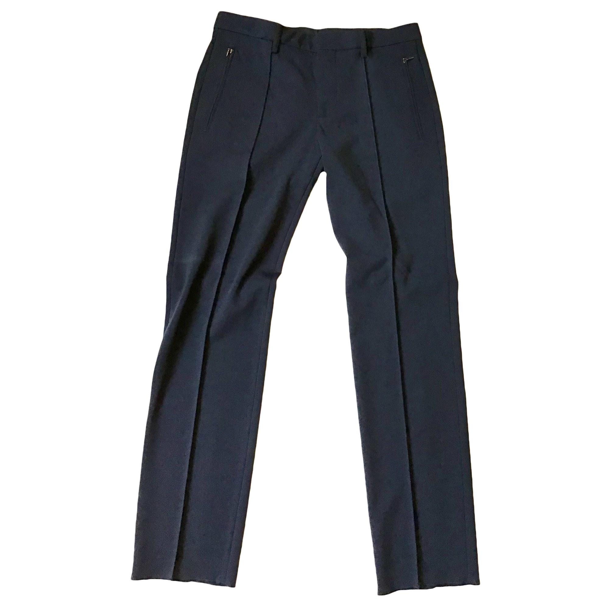 Pantalon droit DIRK BIKKEMBERGS Bleu, bleu marine, bleu turquoise