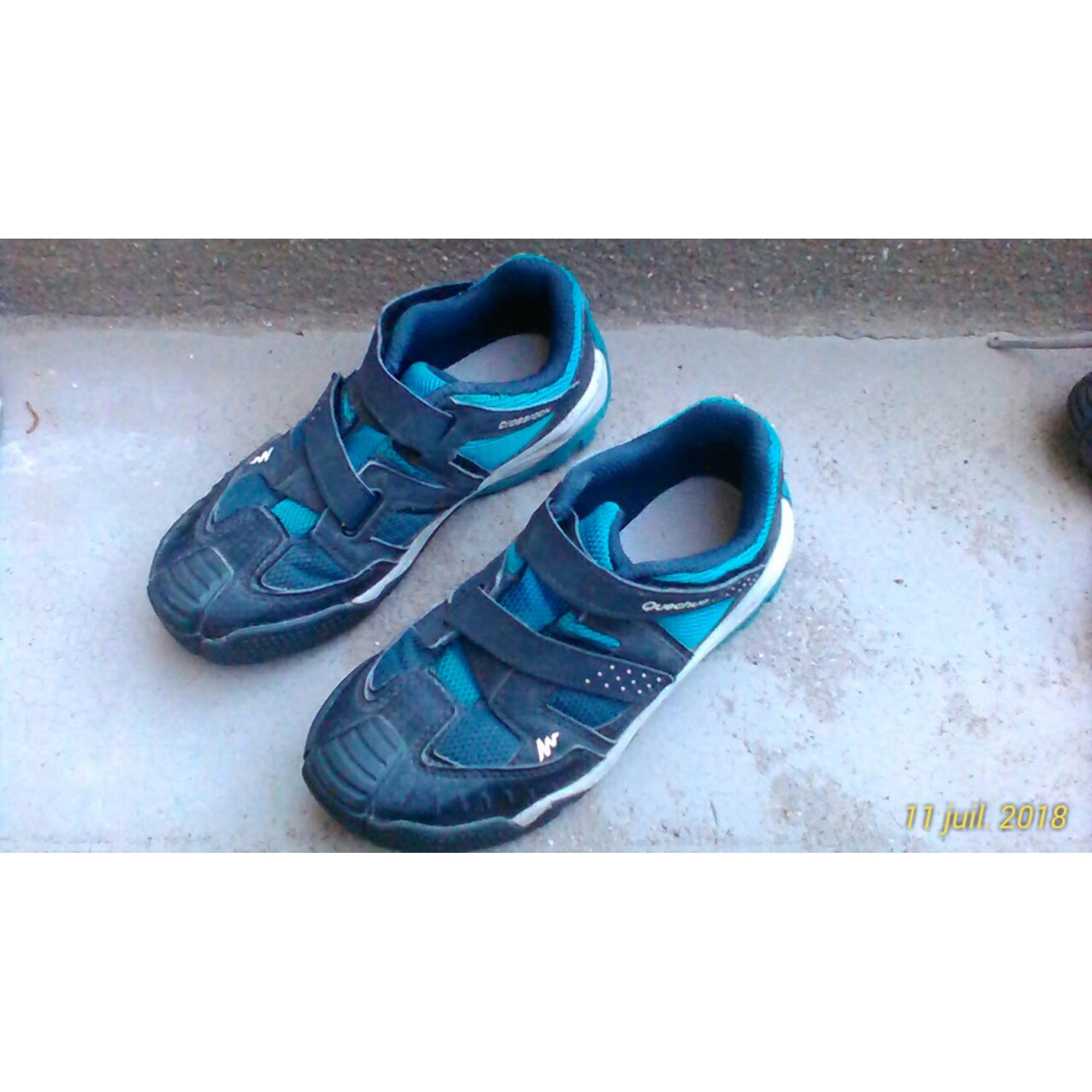 Bandes tressées sandale chaussures femme caki pour l'été SPK