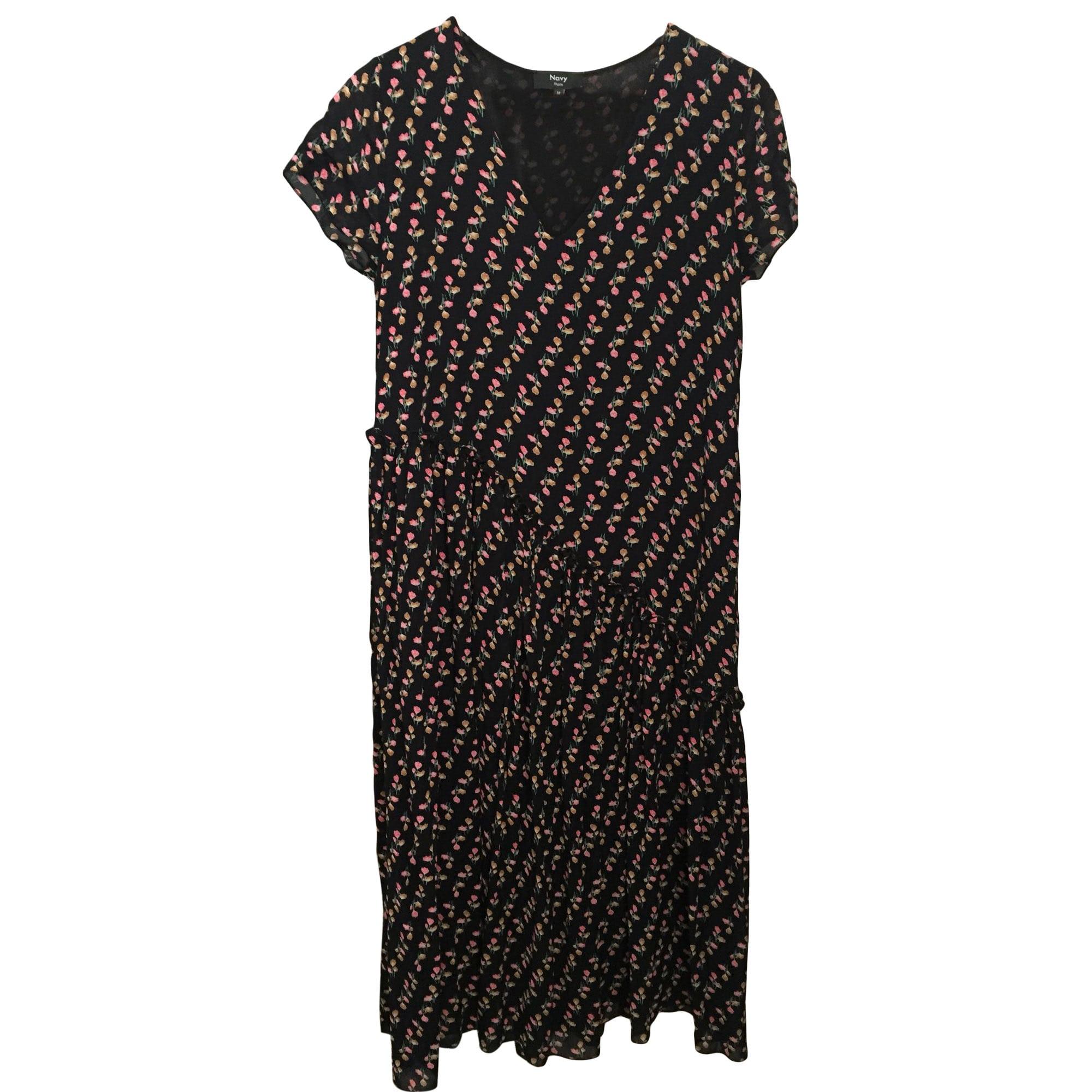 b00026721c069 Robe longue NAVY PARIS Multicouleur