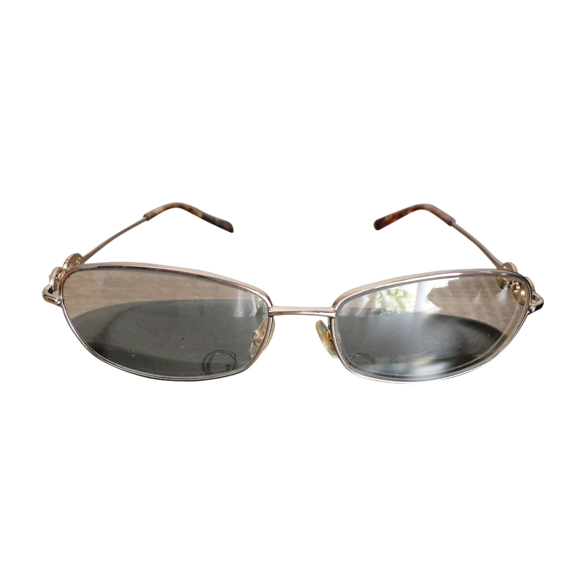 7b9e3eb7b34069 Monture de lunettes GUCCI Doré, bronze, cuivre