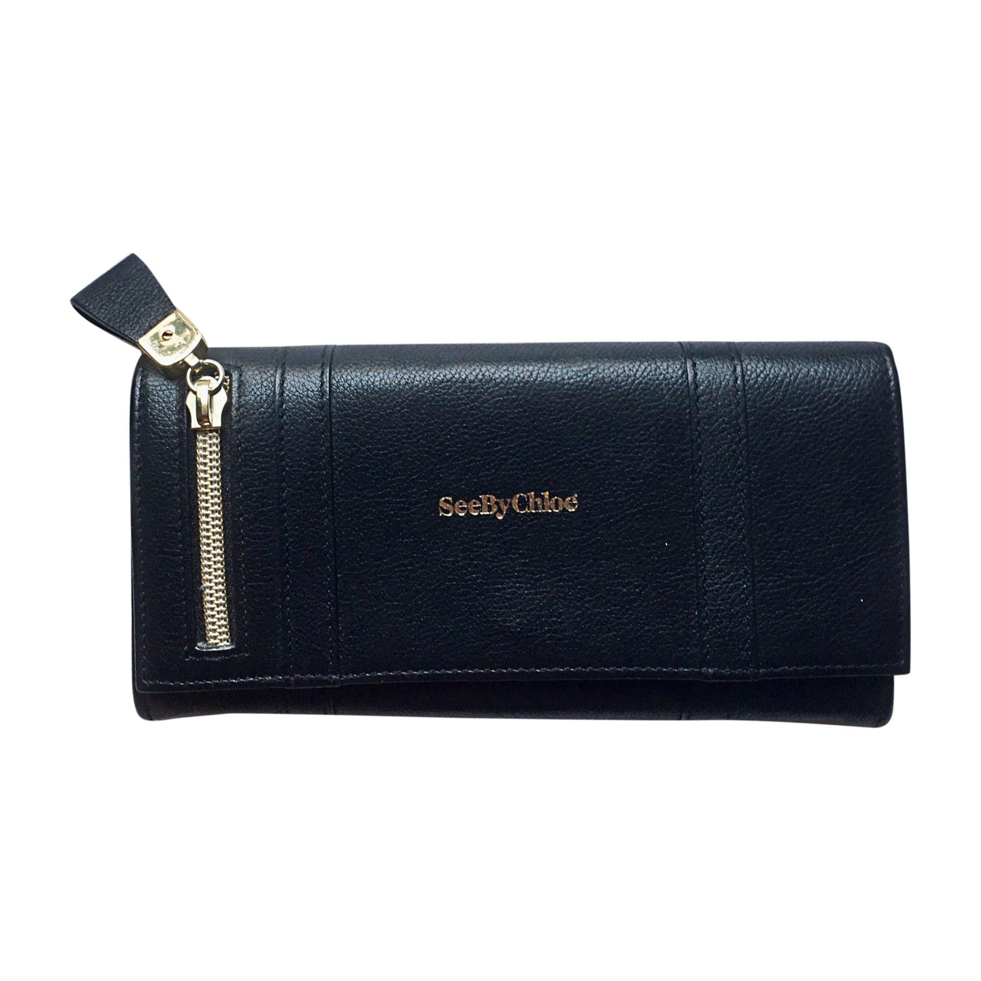 Portefeuille SEE BY CHLOE noir vendu par Clarisse 688 - 7870933 b5455e2f502