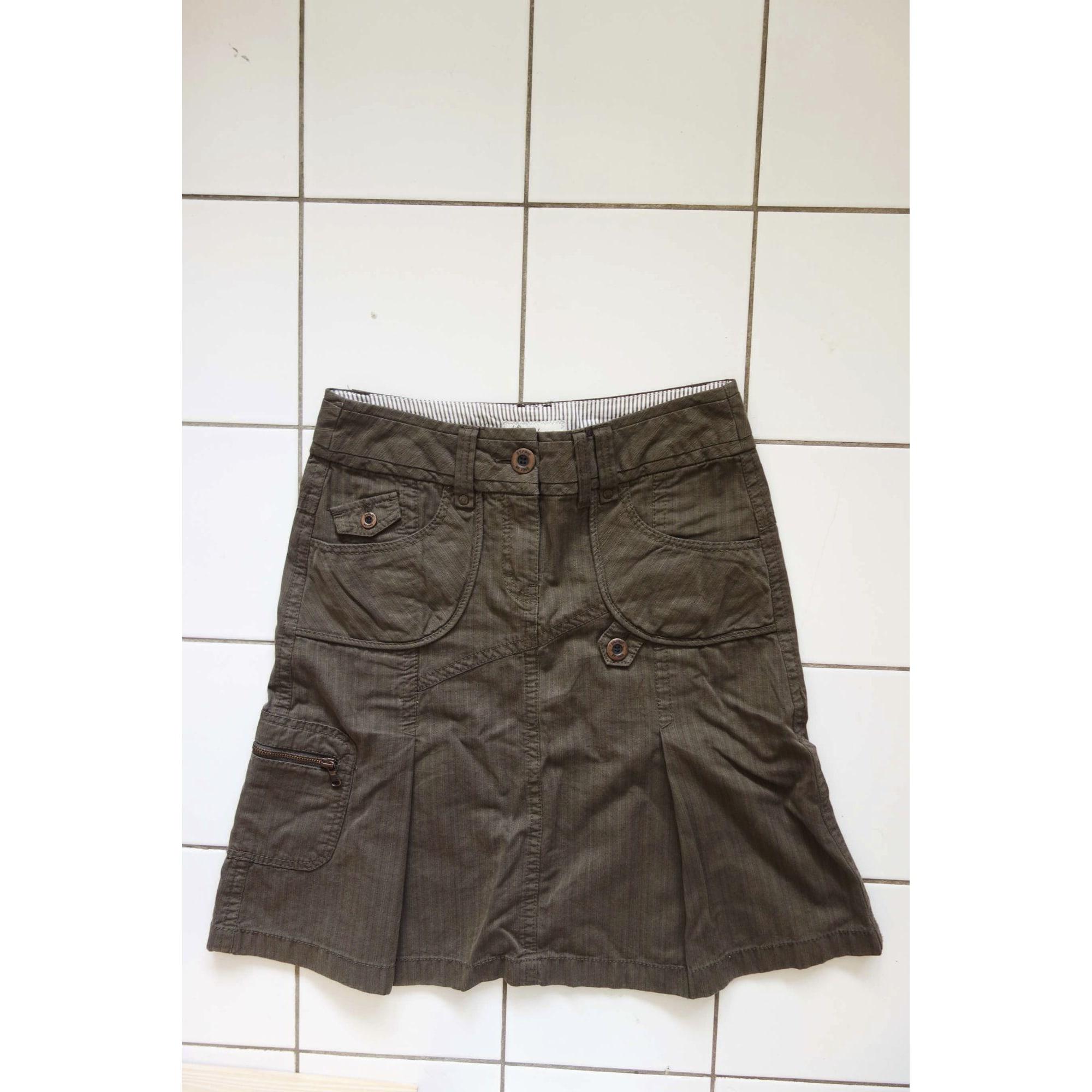 515c3029c9 Denim Skirt ESPRIT DE.CORP 38 (M, T2) brown - 7873370