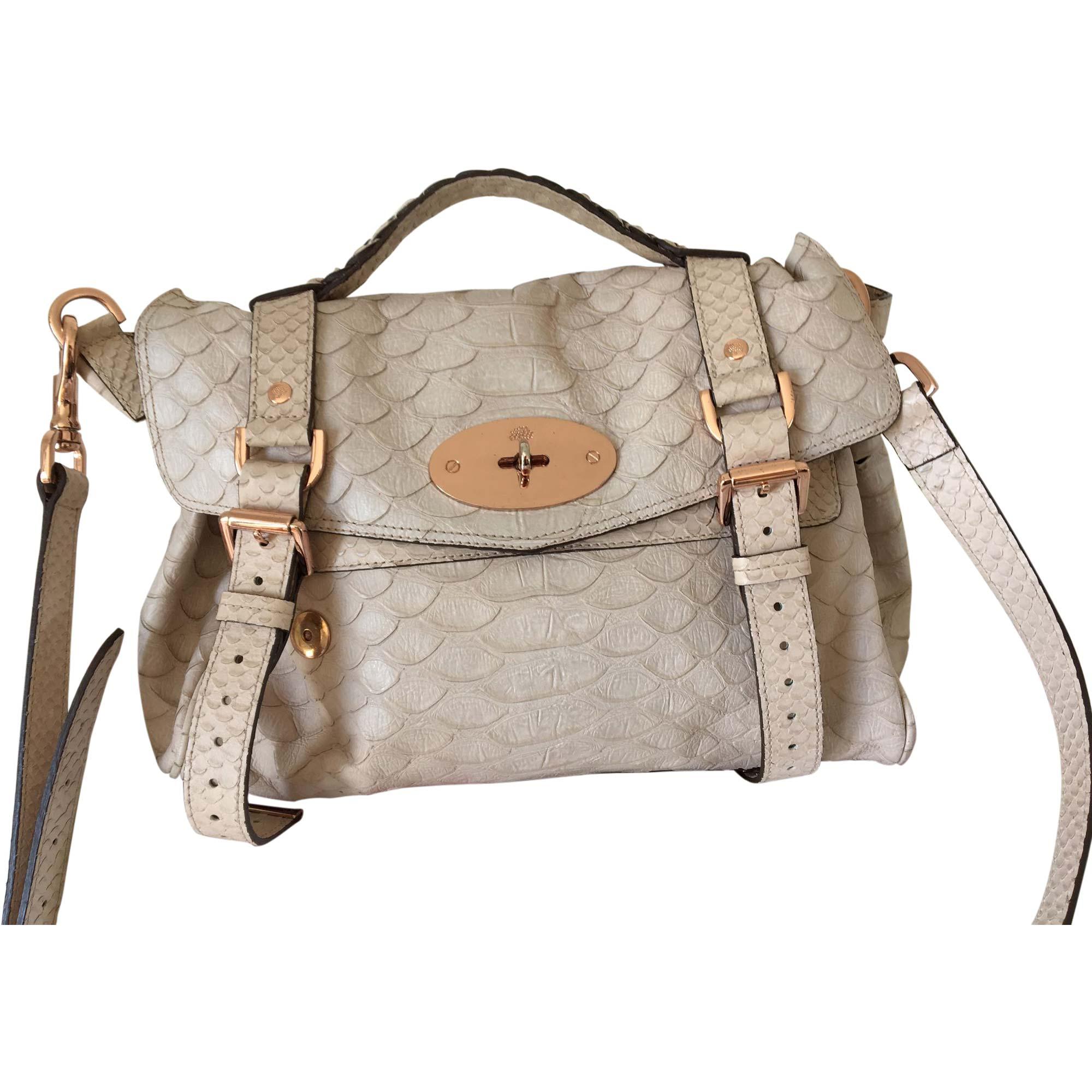 55bdf2ad74 Leather Handbag MULBERRY white - 7875876
