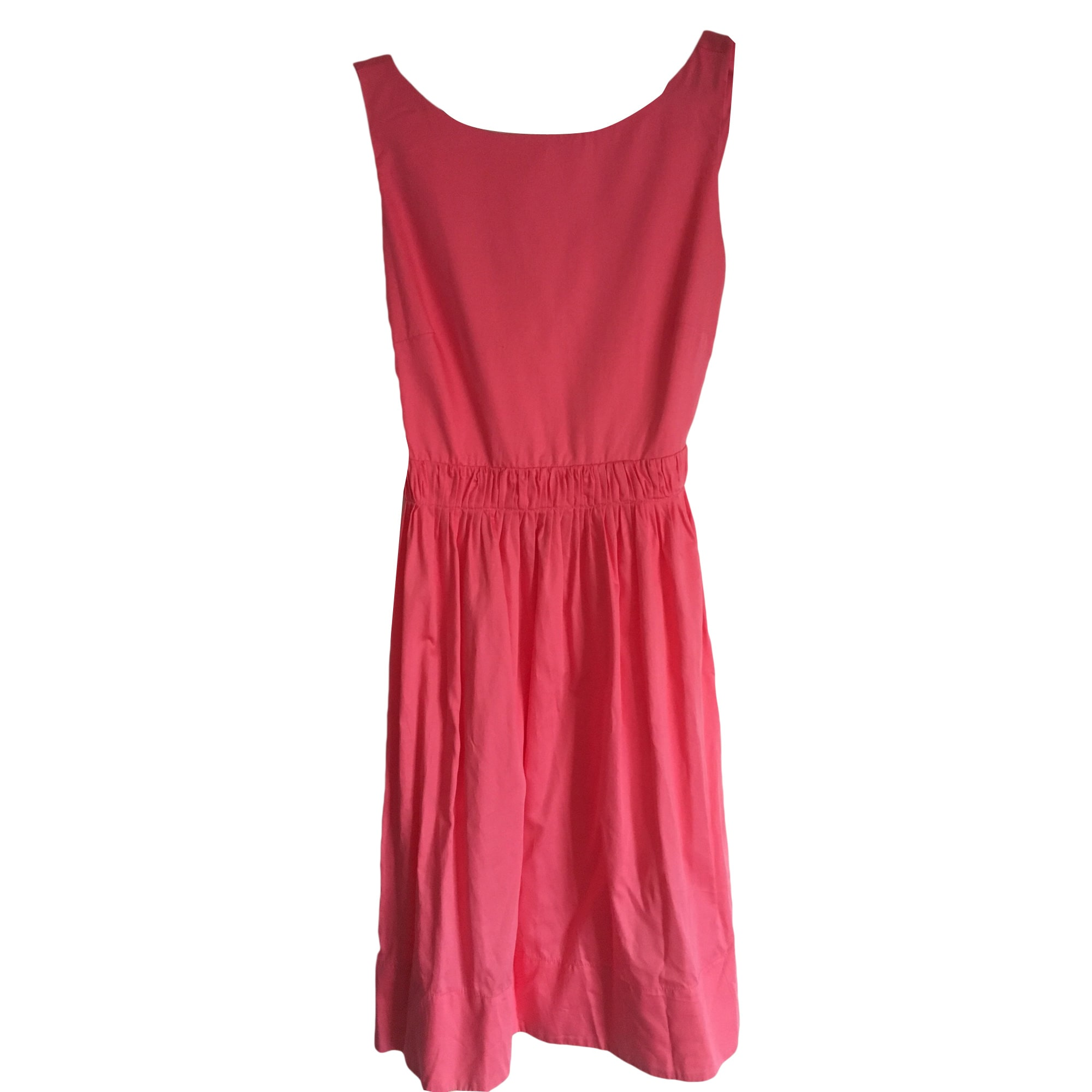 Midi Dress TARA JARMON Pink, fuchsia, light pink