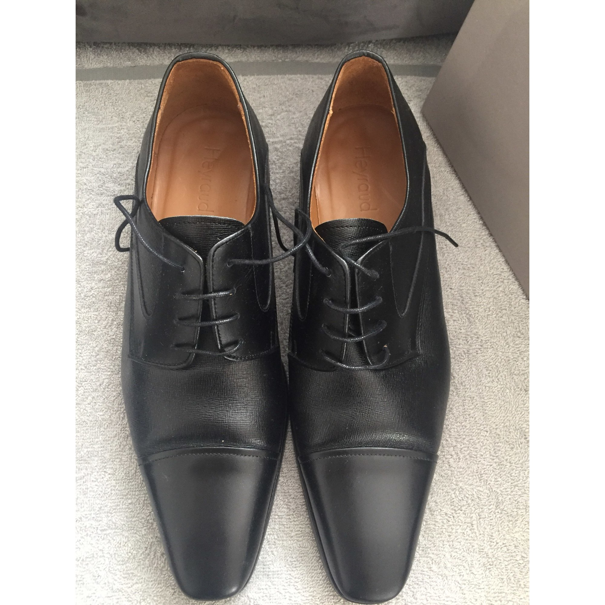 dff8e505a1eaa9 Chaussures à lacets HEYRAUD 44 noir - 7885739