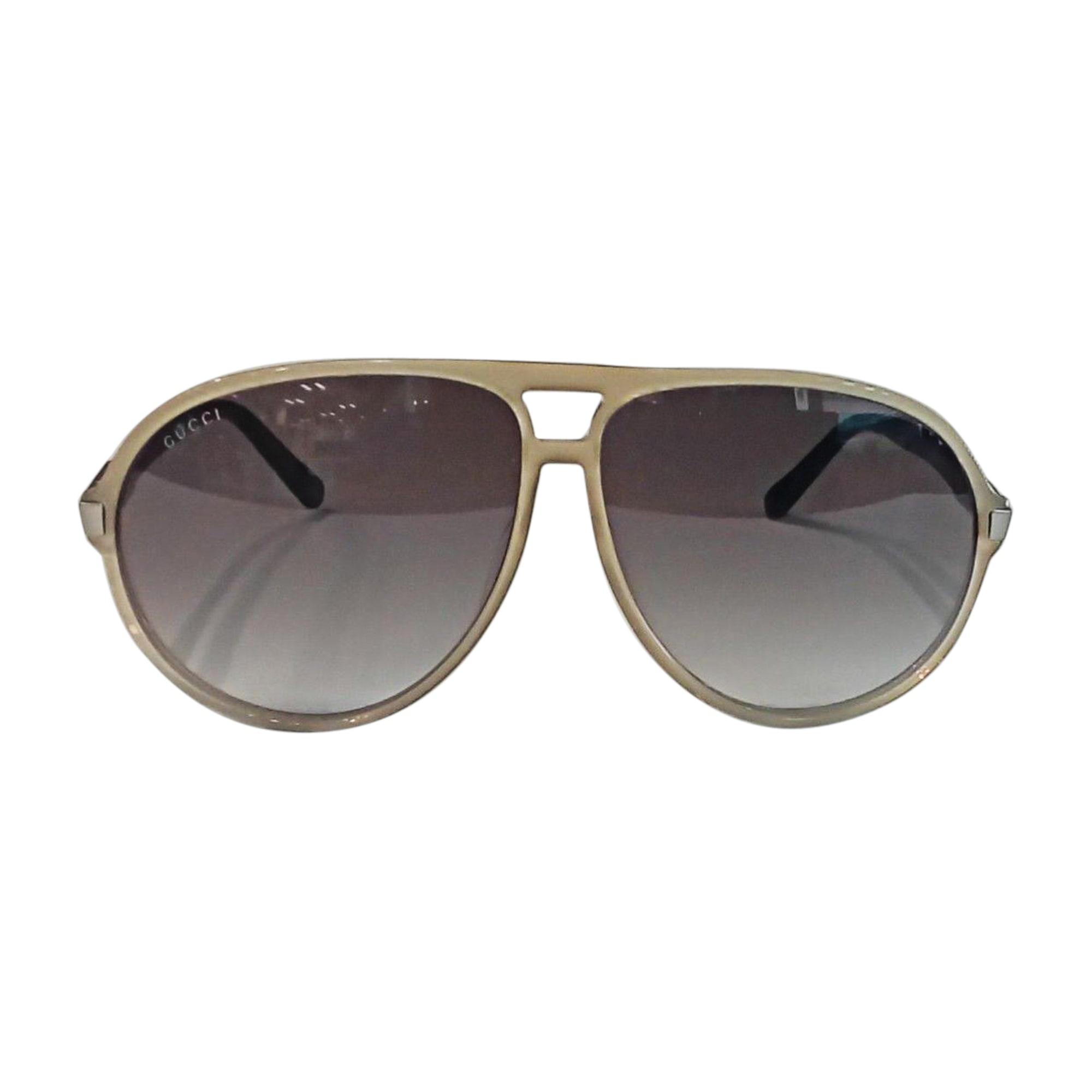 Sunglasses GUCCI Khaki