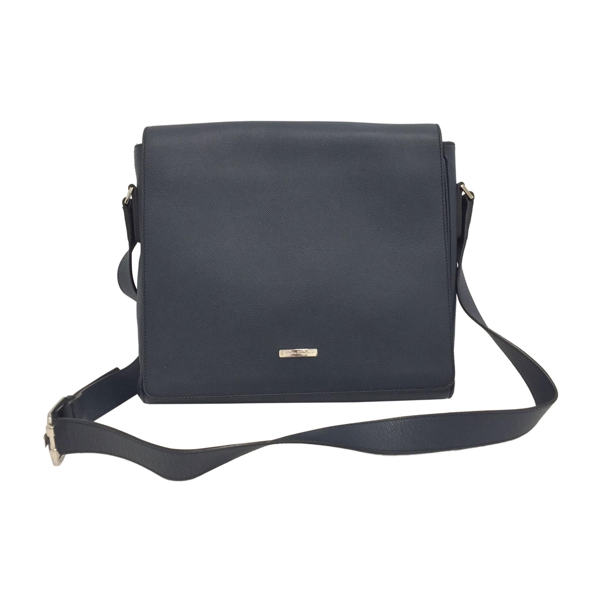 Shoulder Bag SALVATORE FERRAGAMO Blue, navy, turquoise