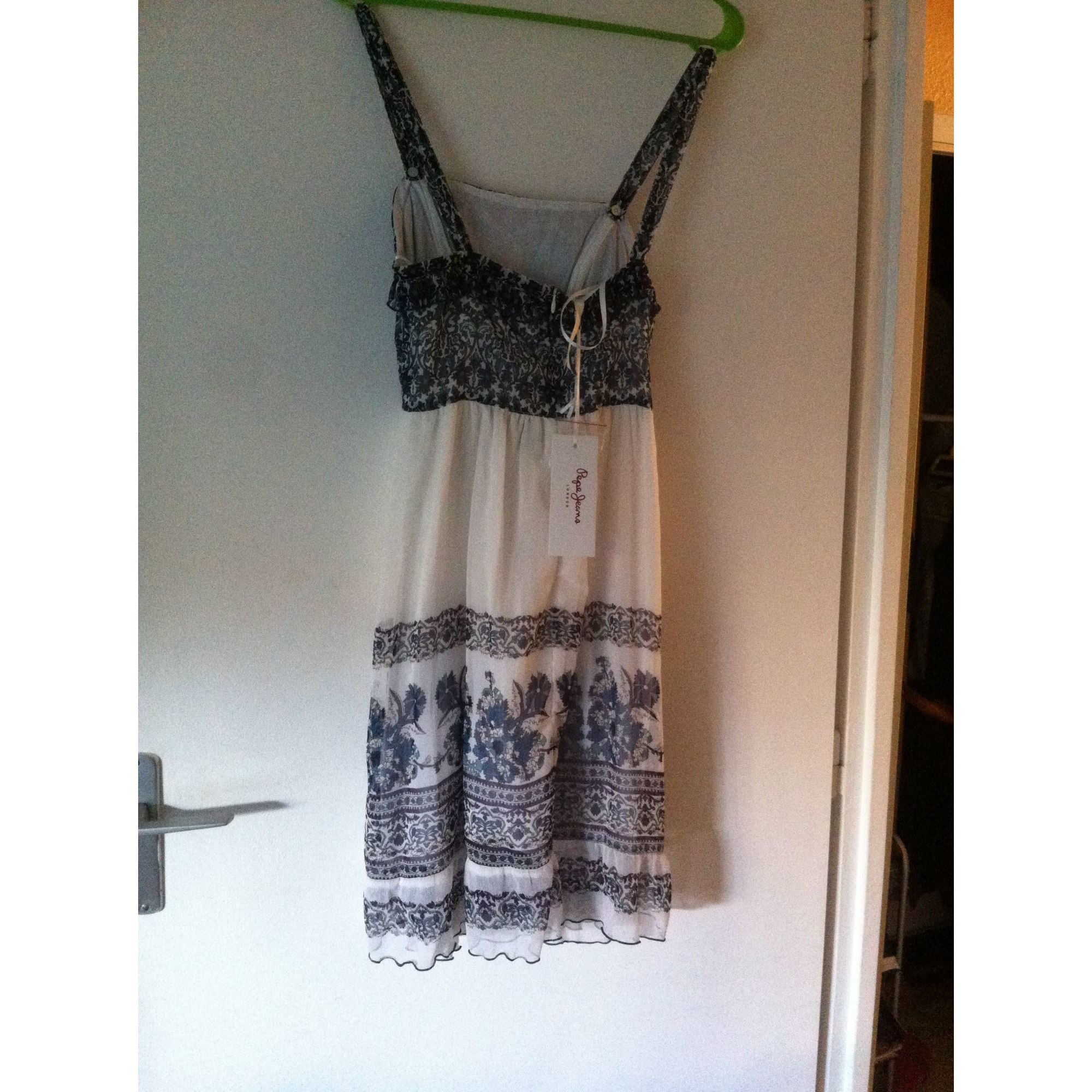 Robe bustier pepe jeans