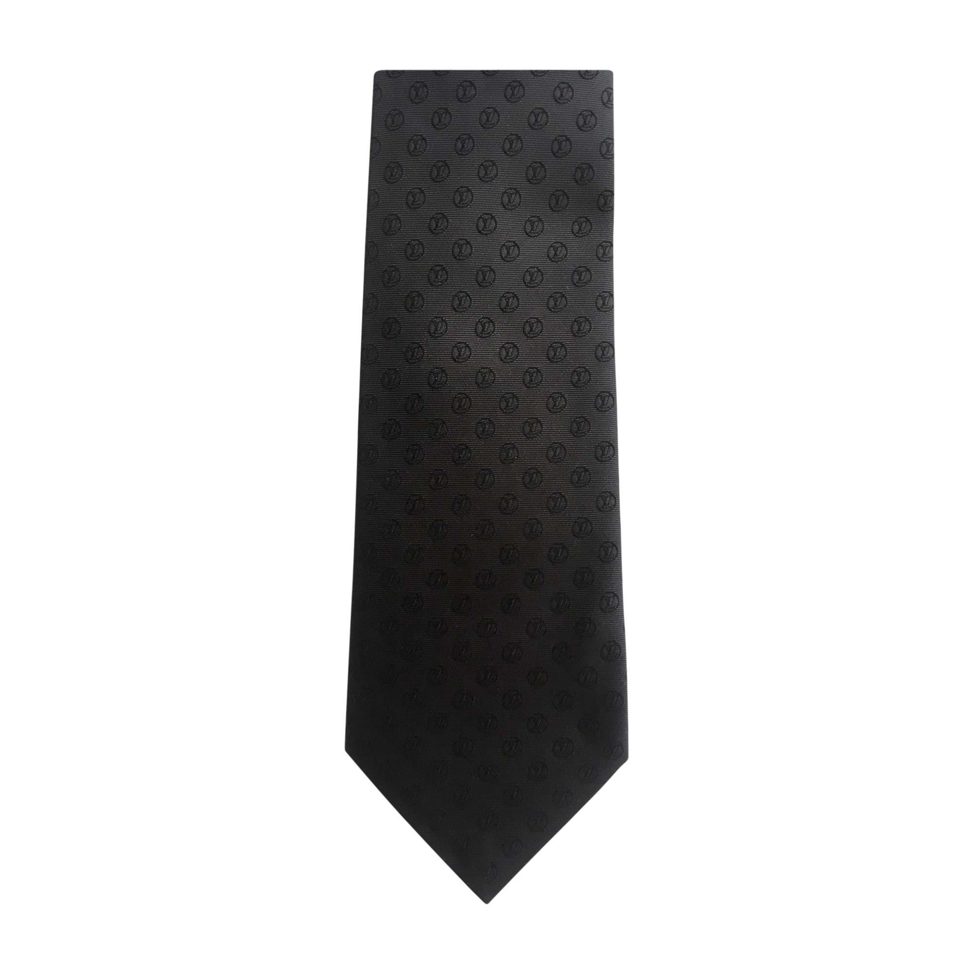 05b40c2cd6e38 Krawatte LOUIS VUITTON schwarz - 7889108