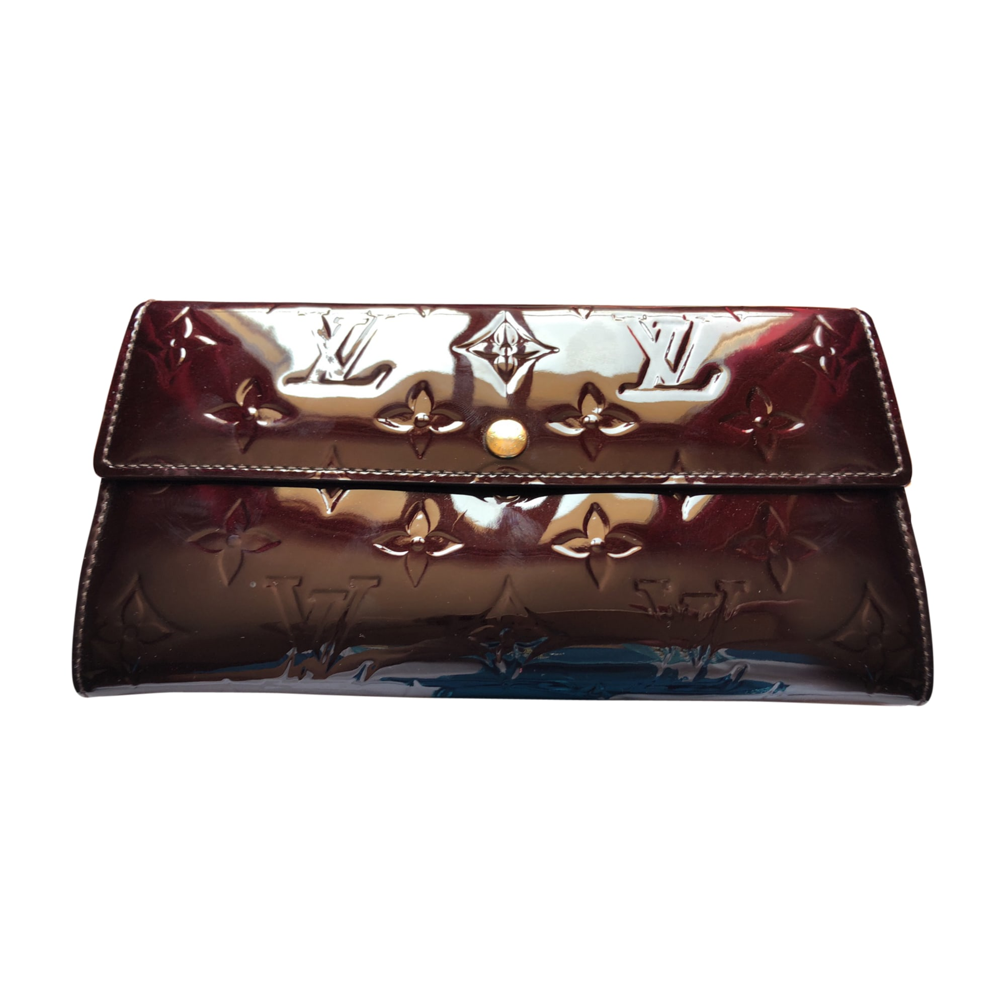 Portefeuille LOUIS VUITTON rouge - 7889250 7635df8e23e