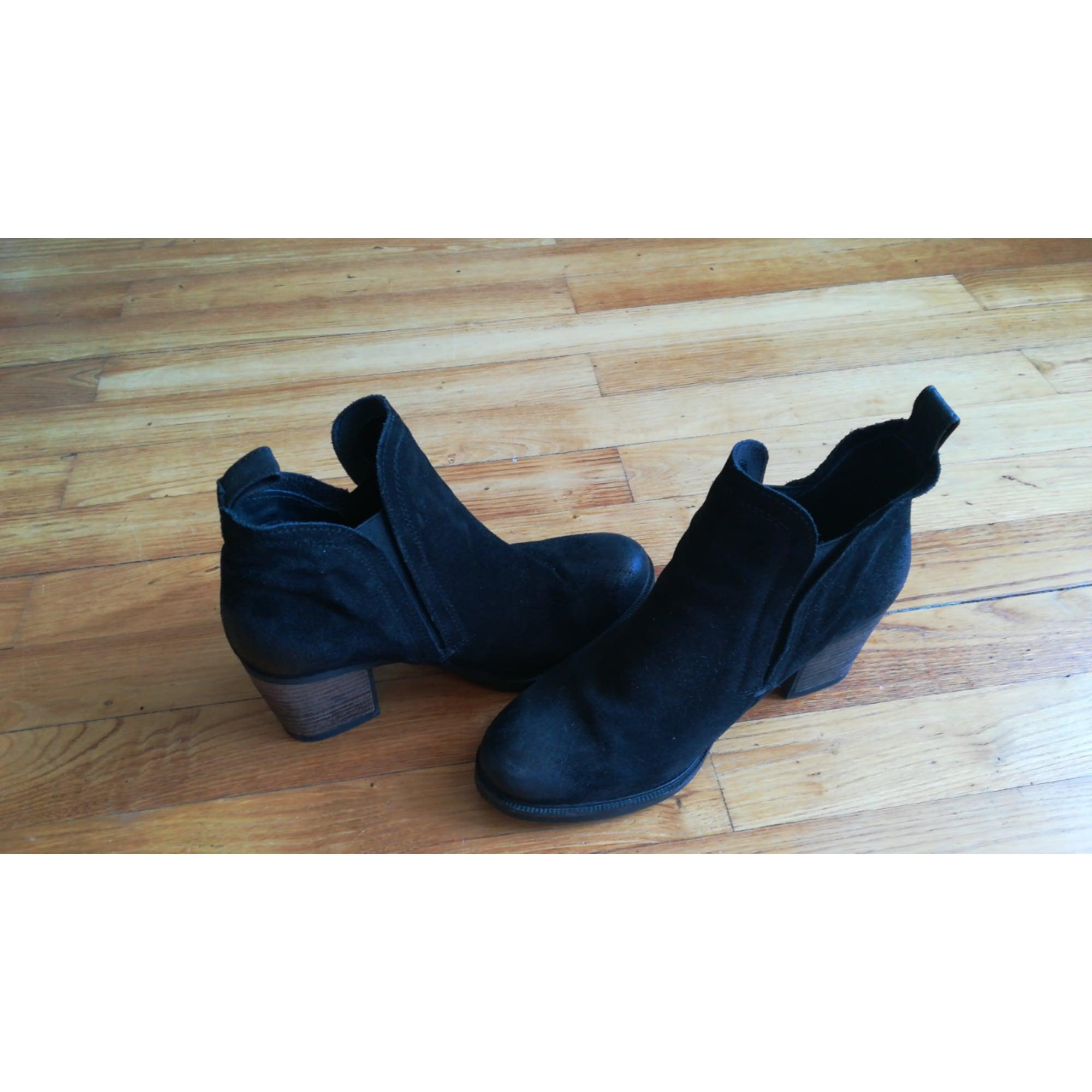 a0e891a4462f4 Bottines   low boots à talons SALSA 38 noir - 7889542
