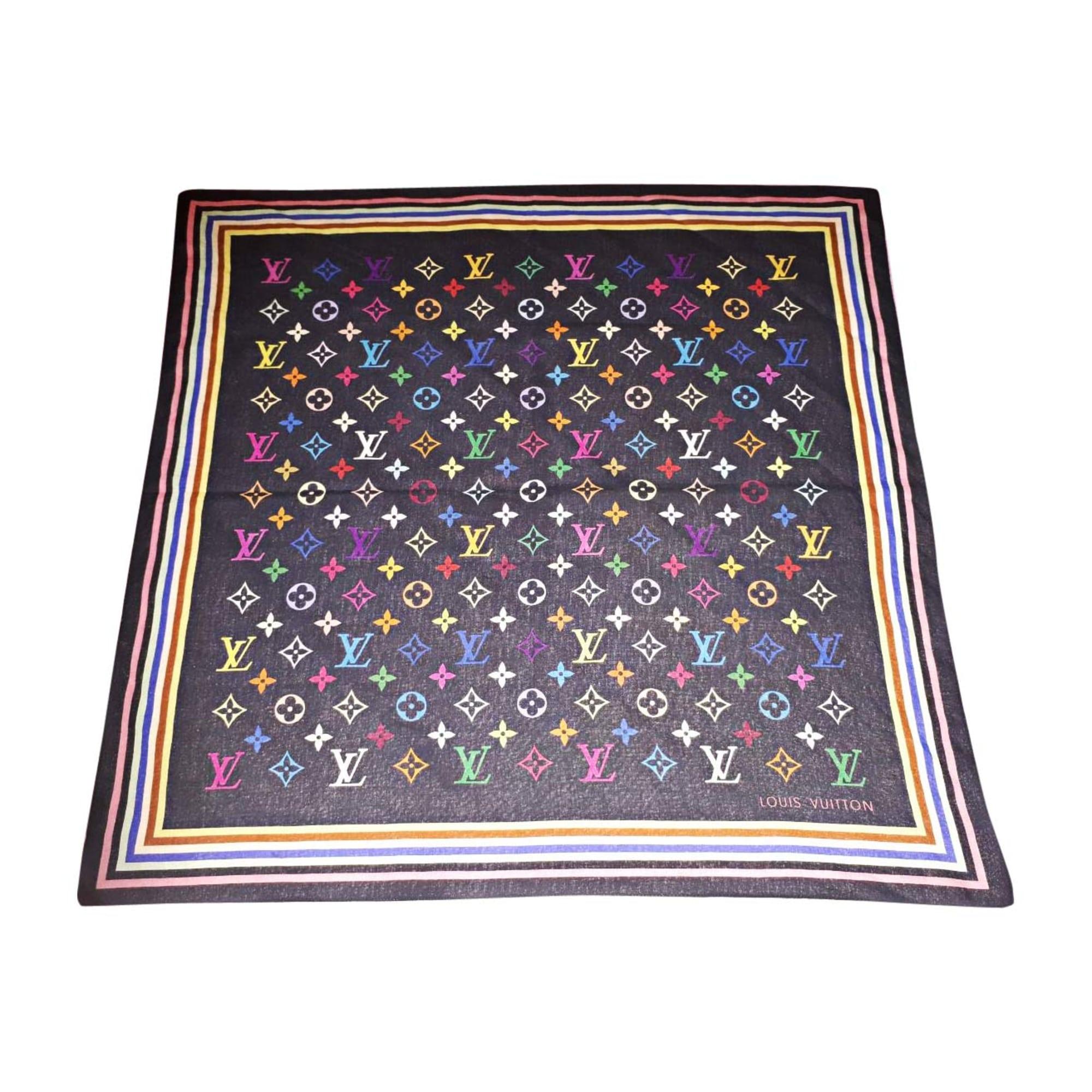 Foulard LOUIS VUITTON multicouleur vendu par Rock.glam.love - 7891318 2ed2371137e