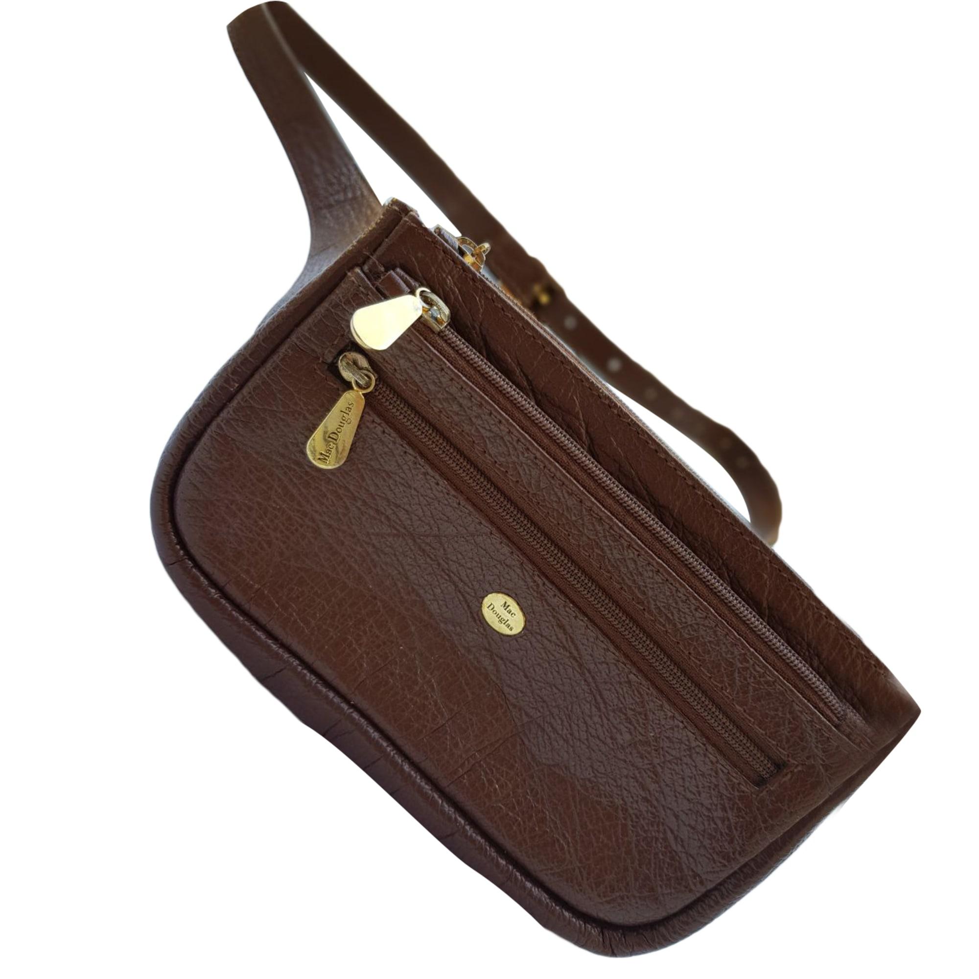 2498104e20ce Sac en bandoulière en cuir MAC DOUGLAS marron - 7891748