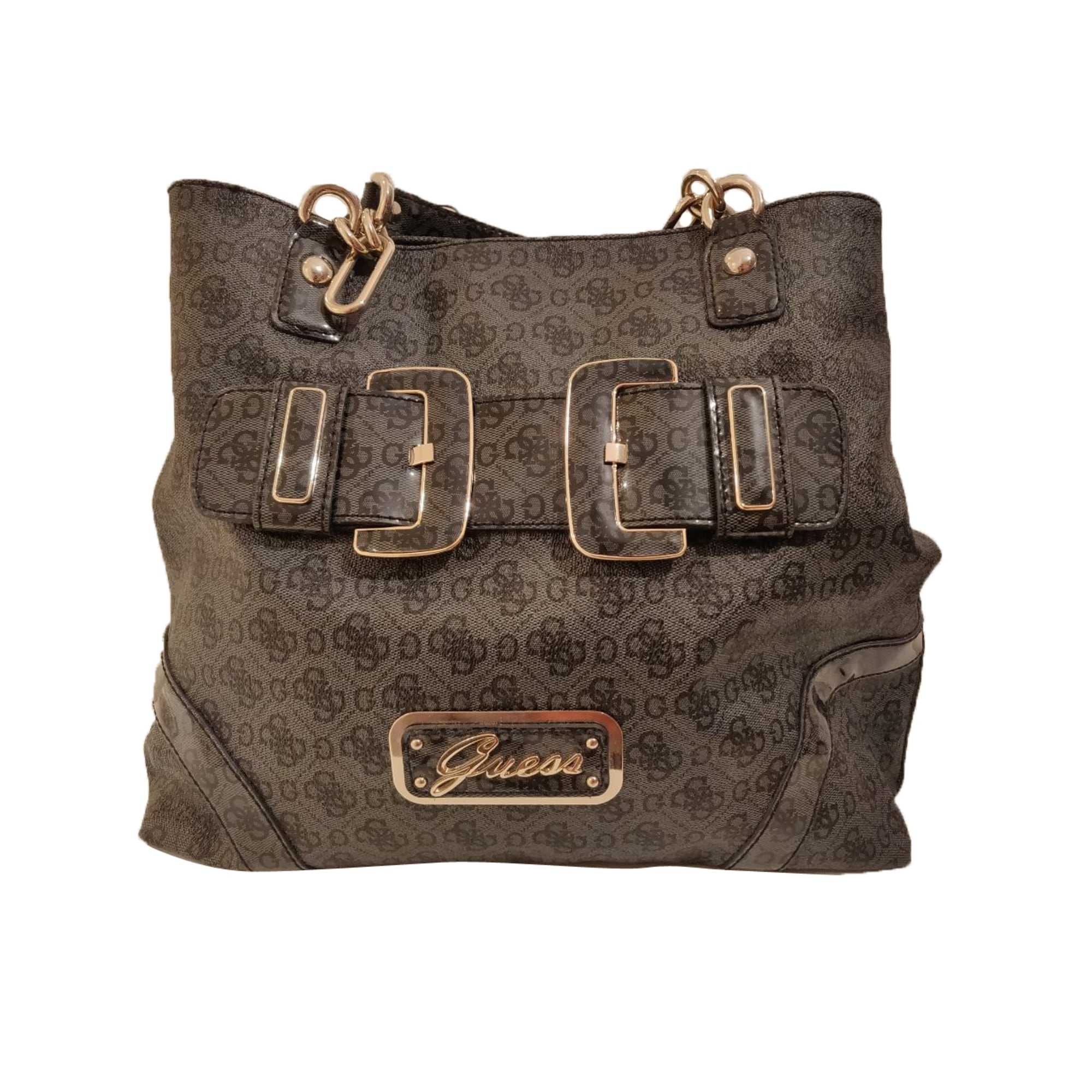 sac a main guess gris anthracite bandouliere