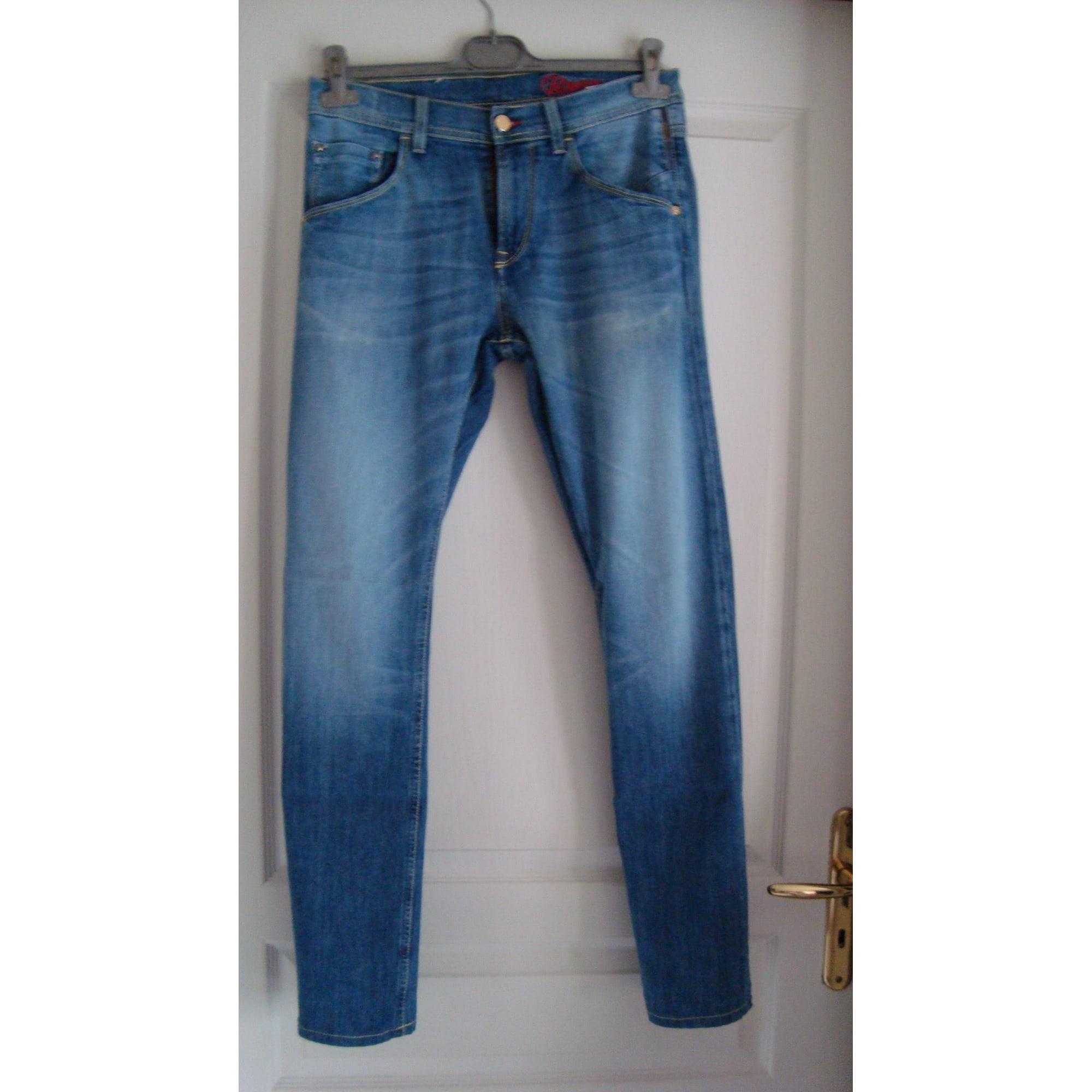 Jeans large, boyfriend MELTIN' POT Bleu, bleu marine, bleu turquoise