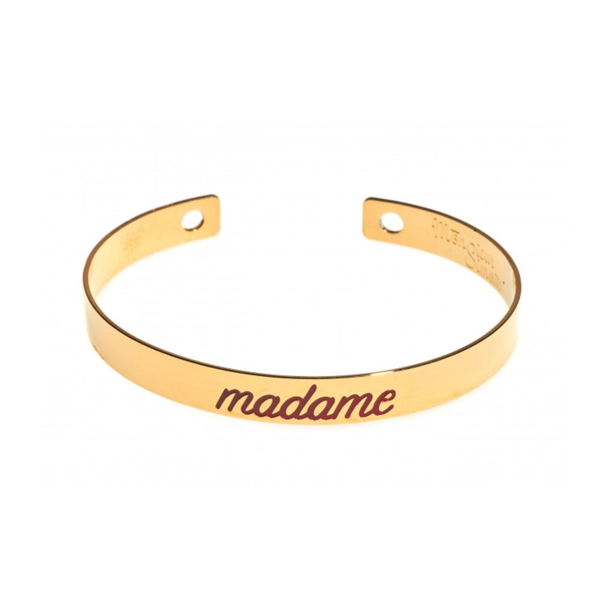 Bracelet MONSIEUR SIMONE laiton doré