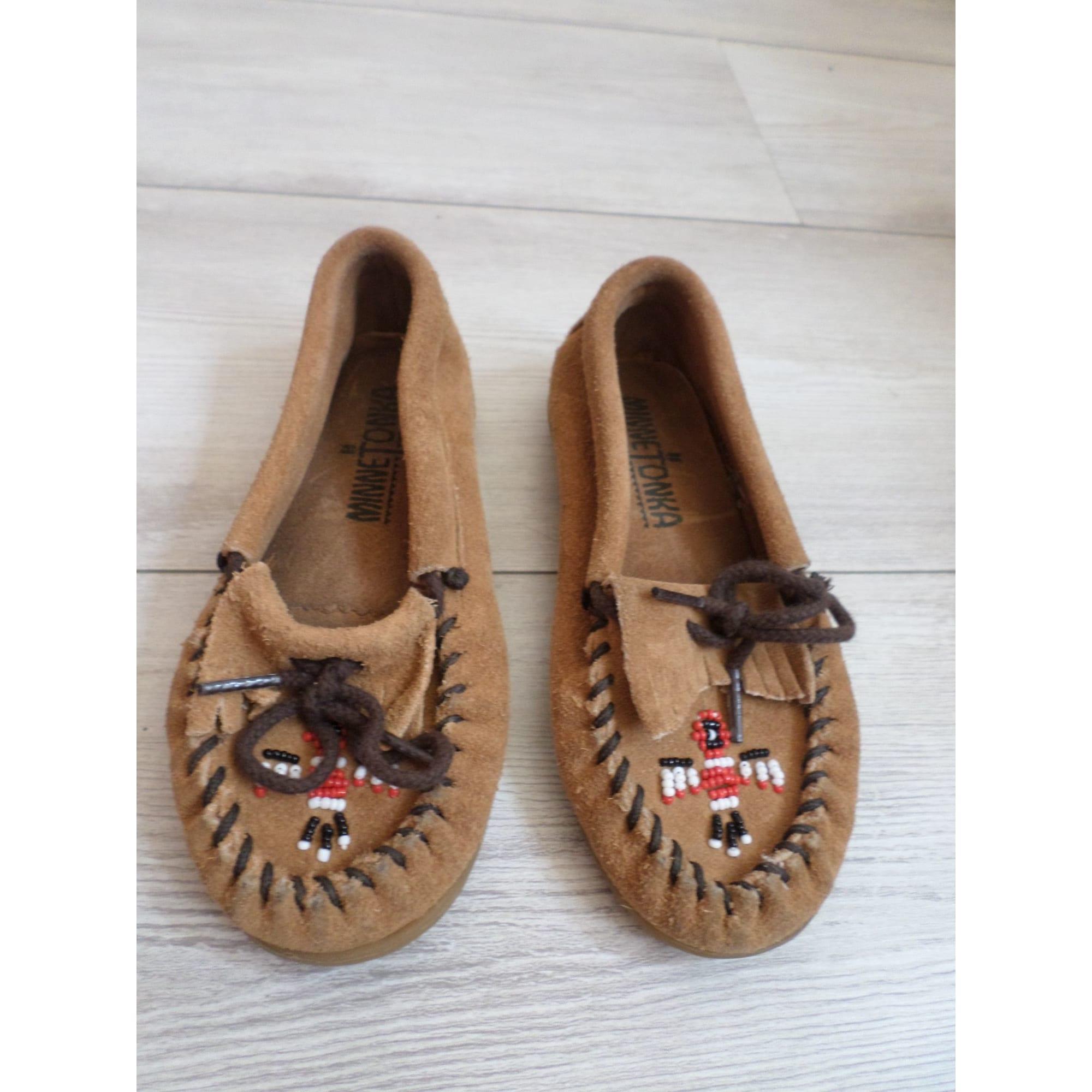 Loafers MINNETONKA Brown