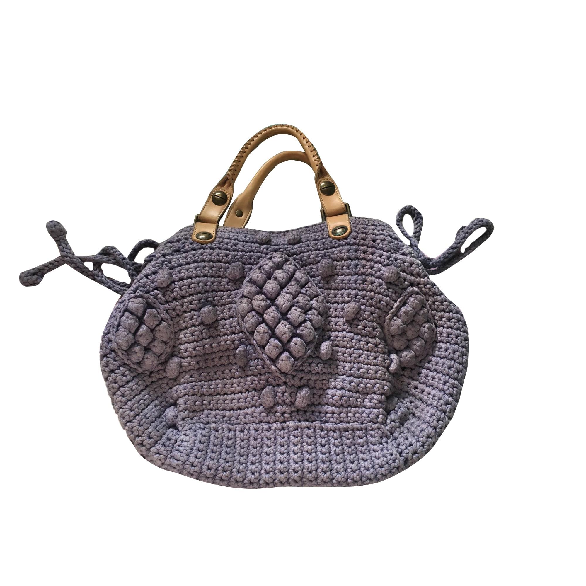 Non-Leather Handbag GERARD DAREL Blue, navy, turquoise