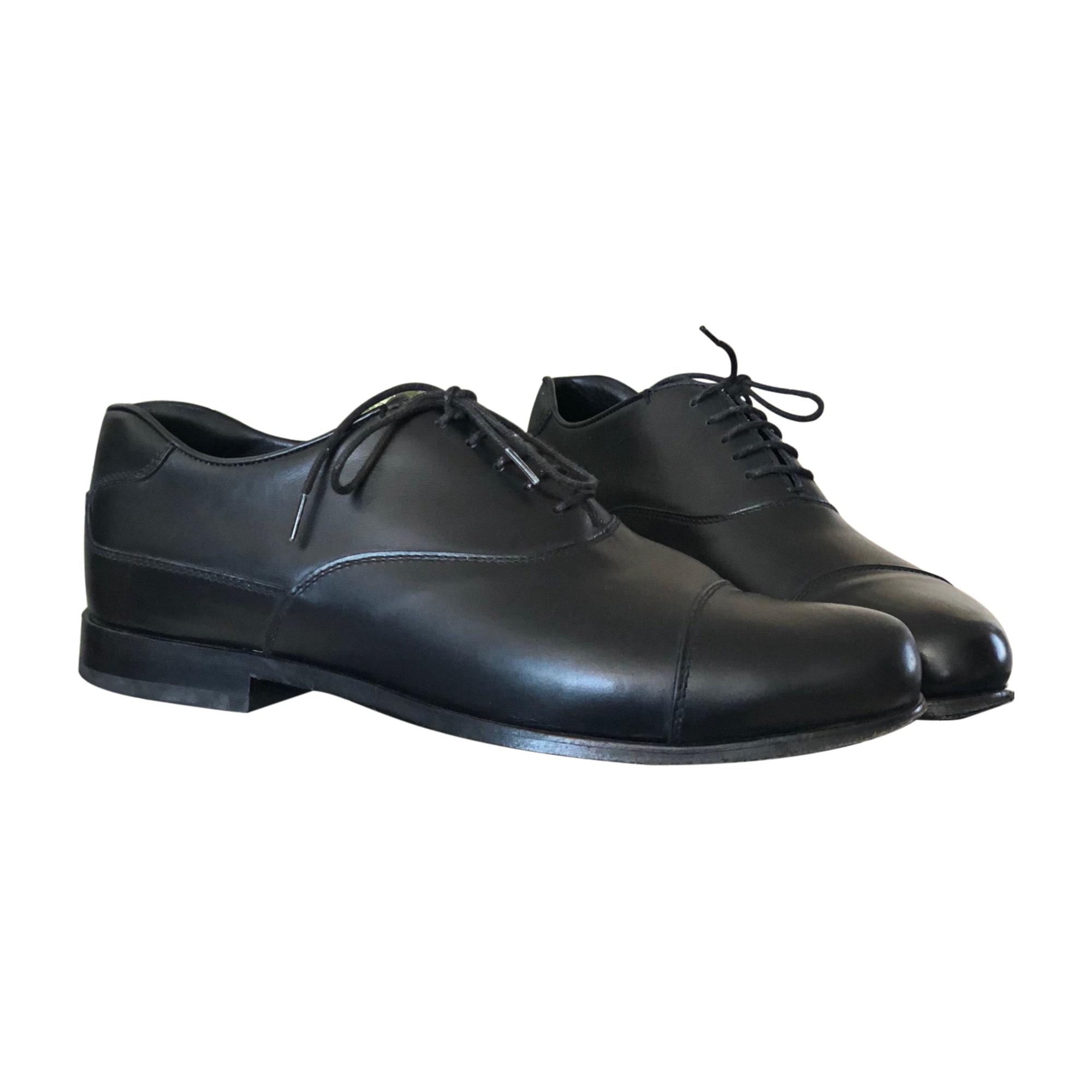 Chaussures à lacets PRADA 42,5 noir - 7905275 6bfcf31269b3