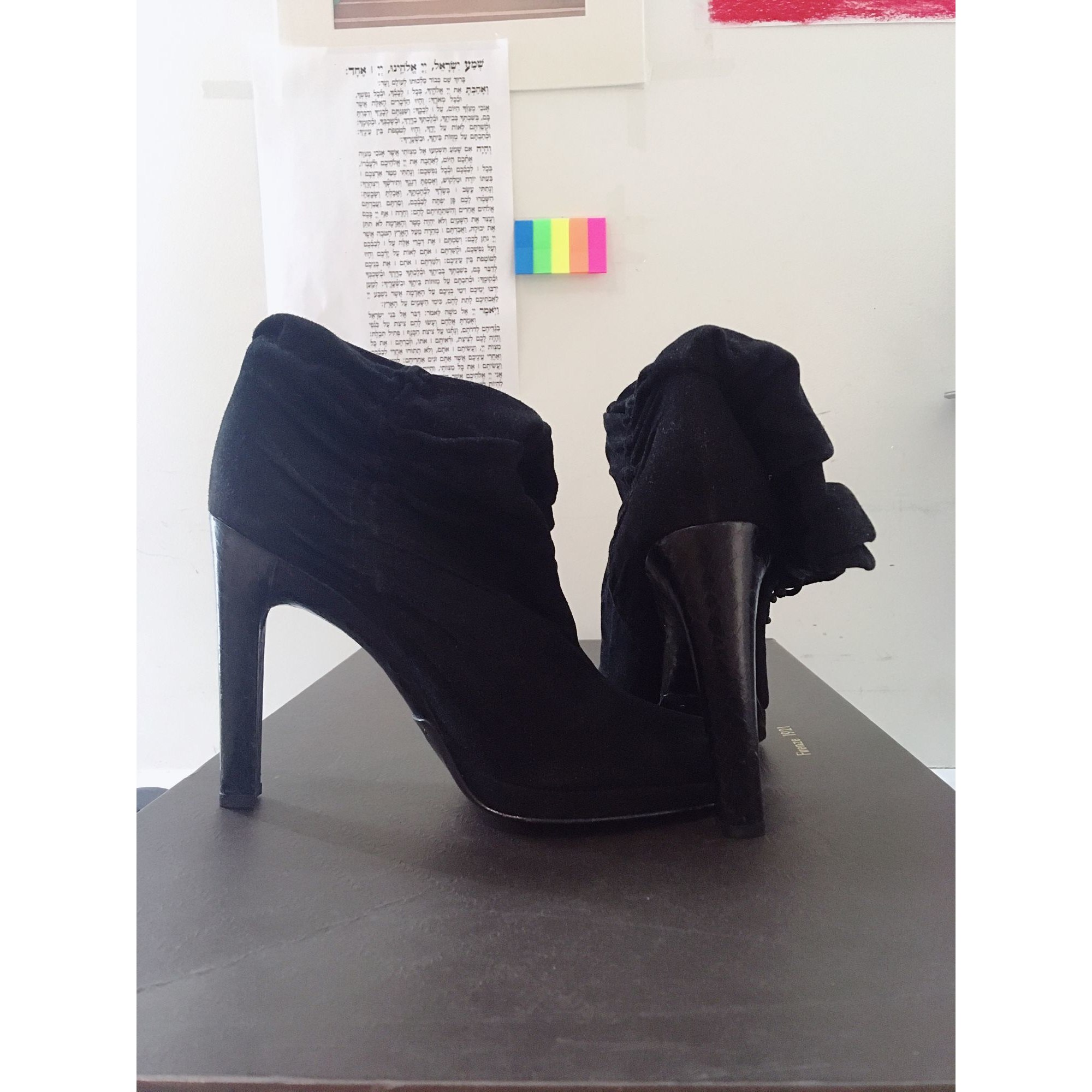 4c8bf433c High Heel Boots GUCCI 38,5 black - 7906093