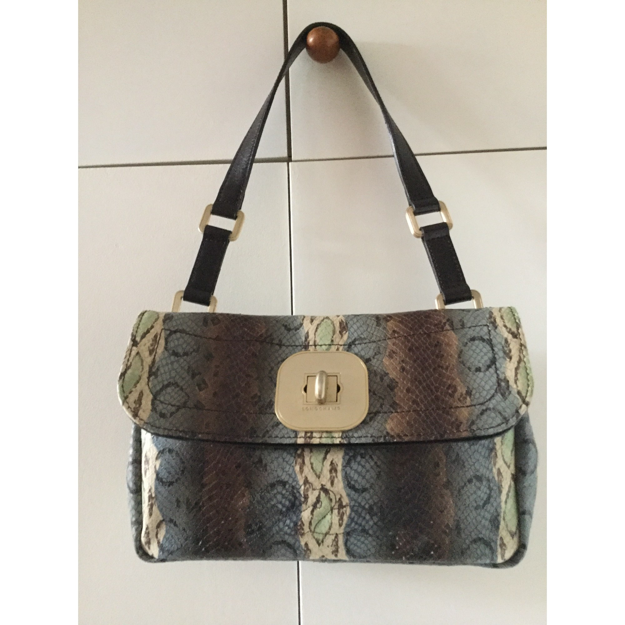 pelle Borsa Print Animal in 7906310 Longchamp wzY7Y8Fx