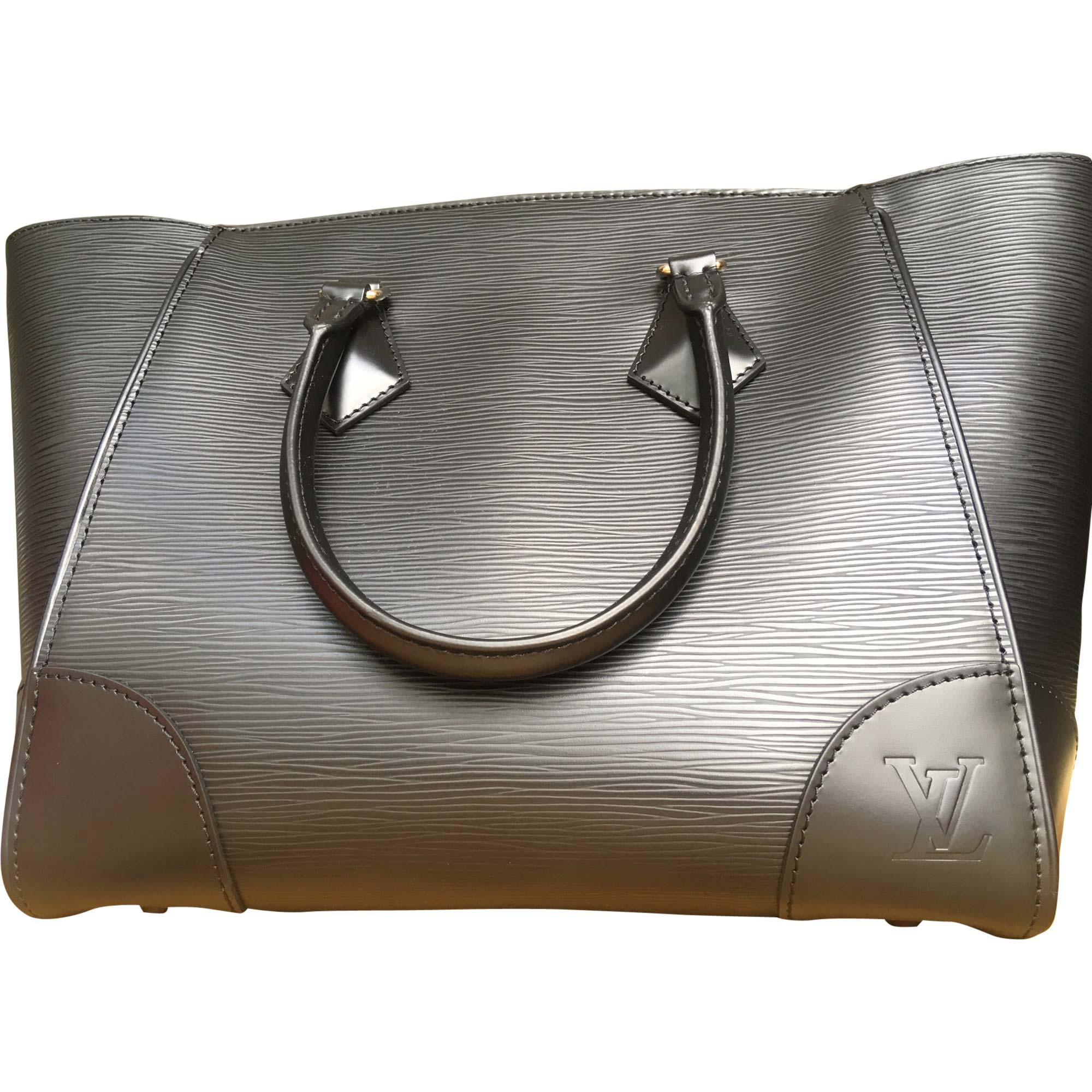 Sac à main en cuir LOUIS VUITTON noir vendu par Eugénie 476 - 7908691 a105aa4a96d