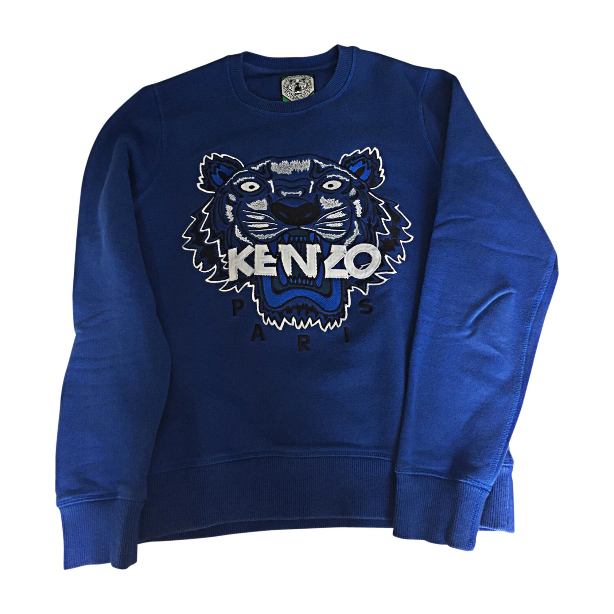 4c4abd6d5a3d Sweat KENZO Bleu, bleu marine, bleu turquoise
