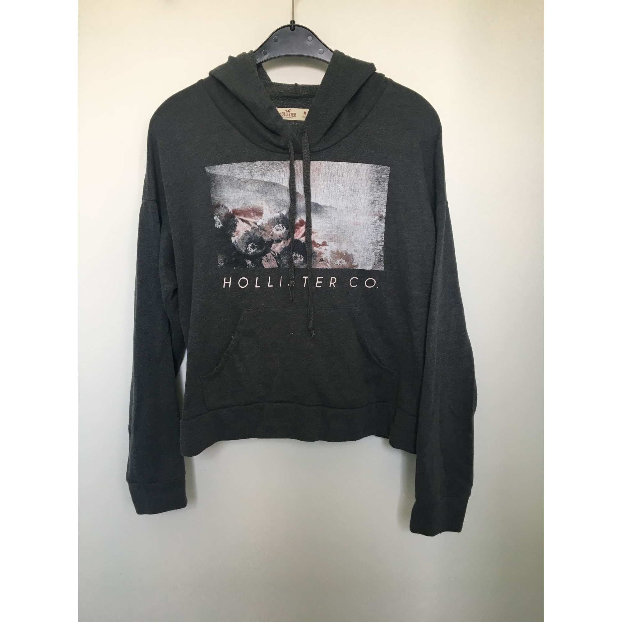Sweat HOLLISTER Gris, anthracite