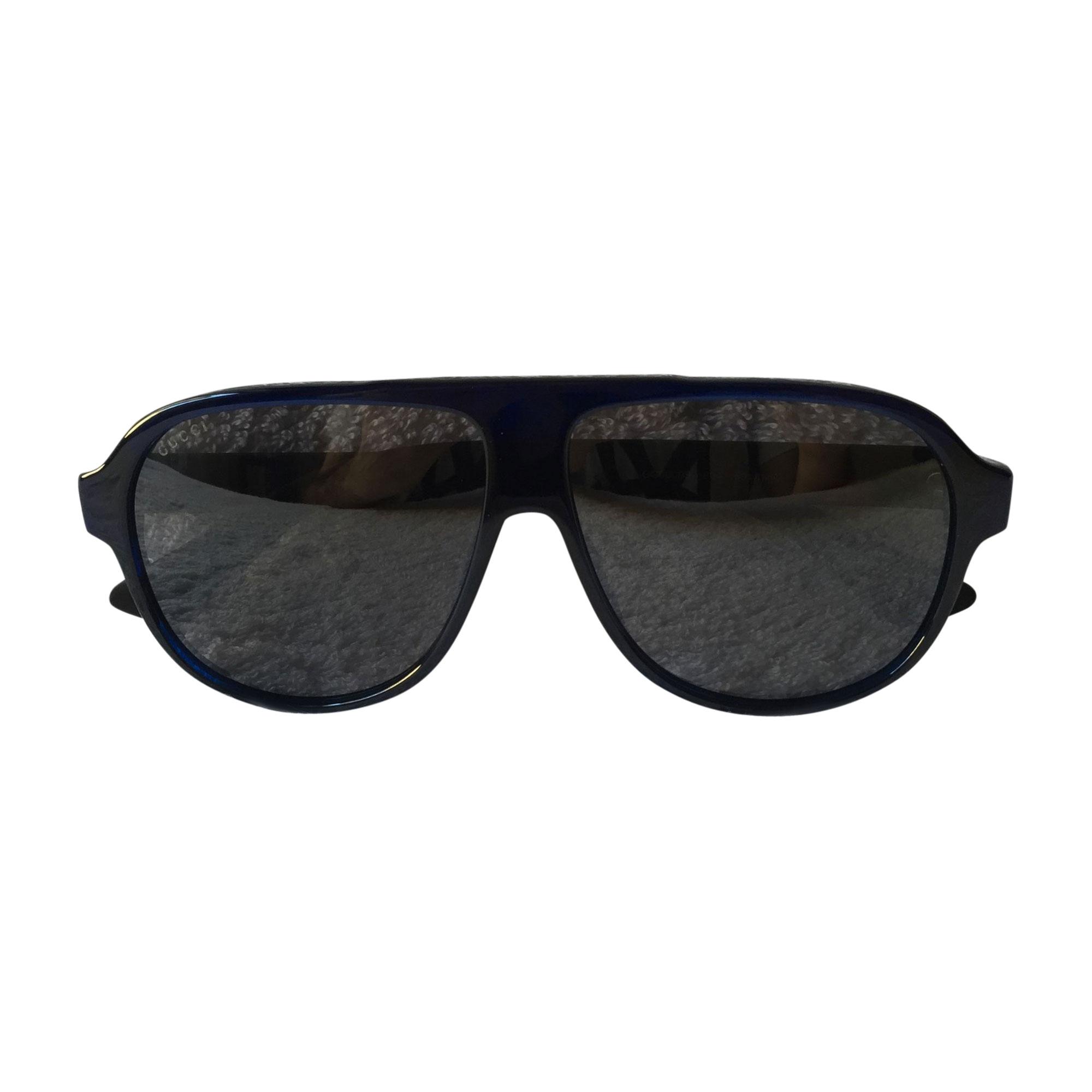 Sonnenbrille GUCCI Blau, marineblau, türkisblau