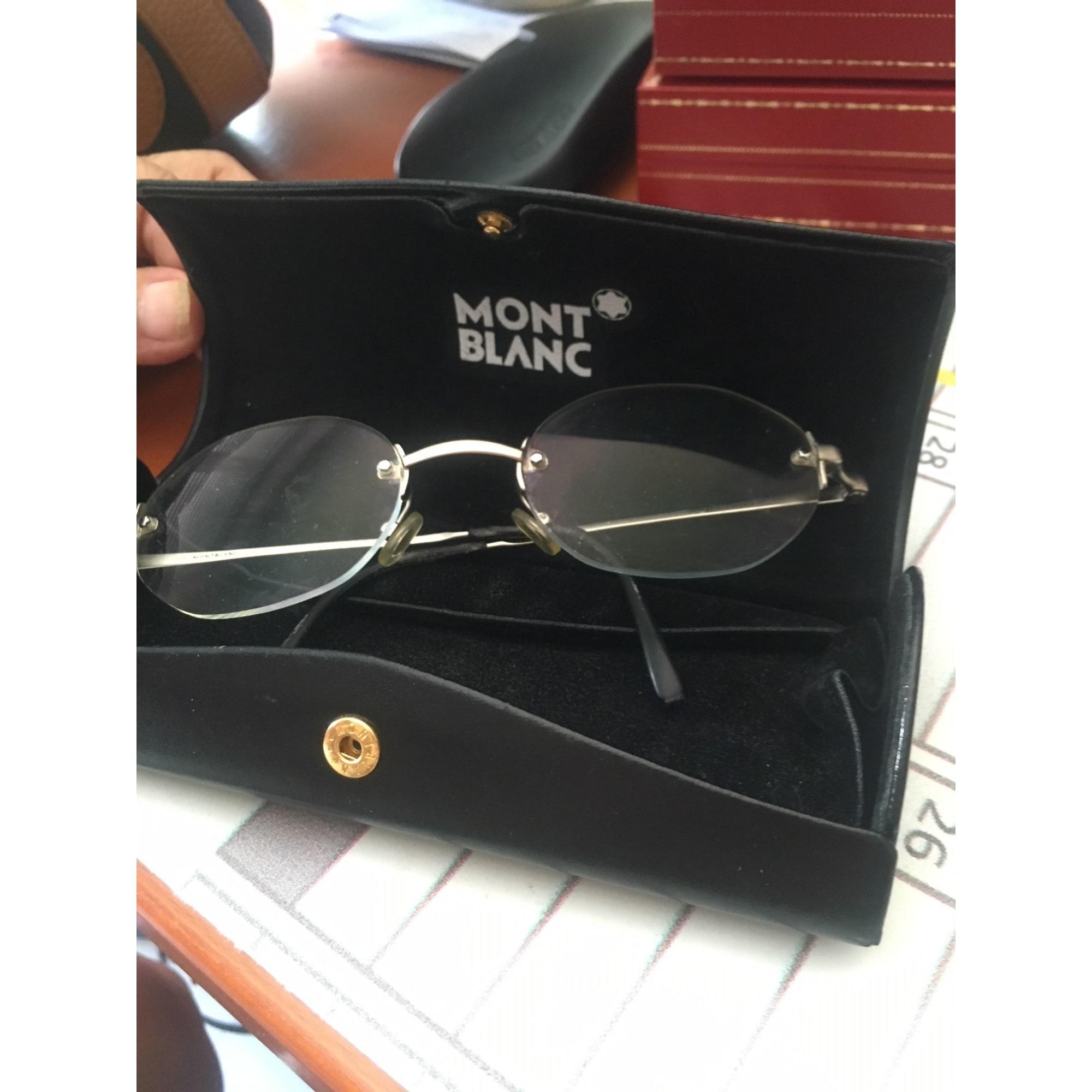 3309236f2c Monture de lunettes MONTBLANC argenté vendu par D'anita 23486074 ...