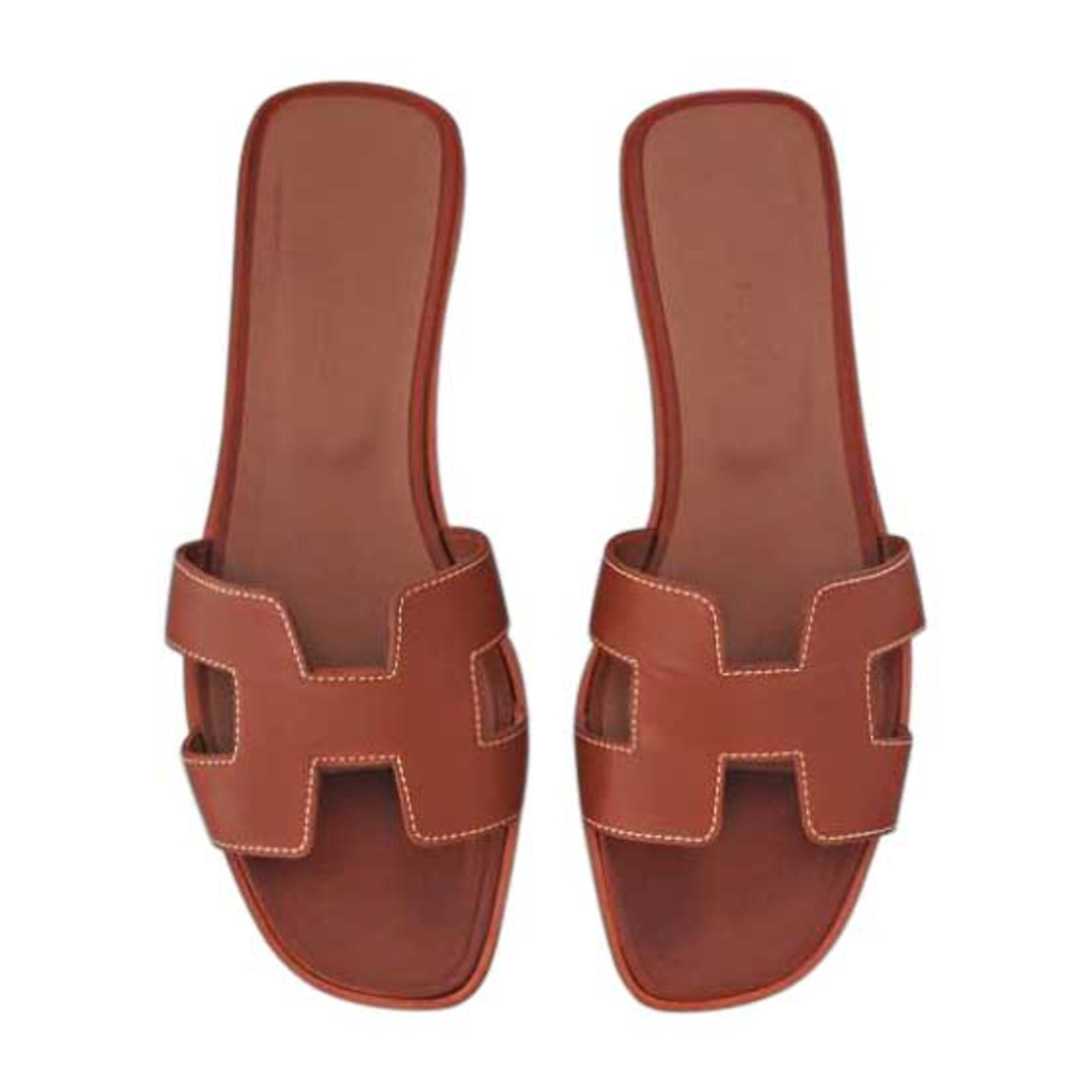 Mules HERMÈS Brown