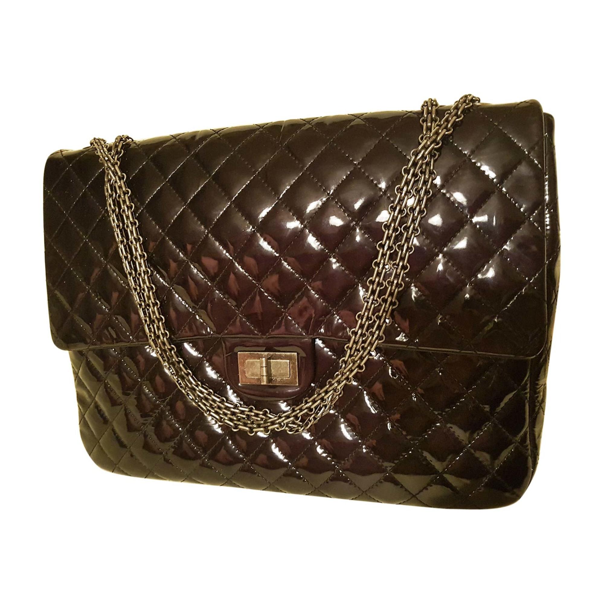 f6edd27e946 Sac XL en cuir CHANEL 255 noir - 7927887