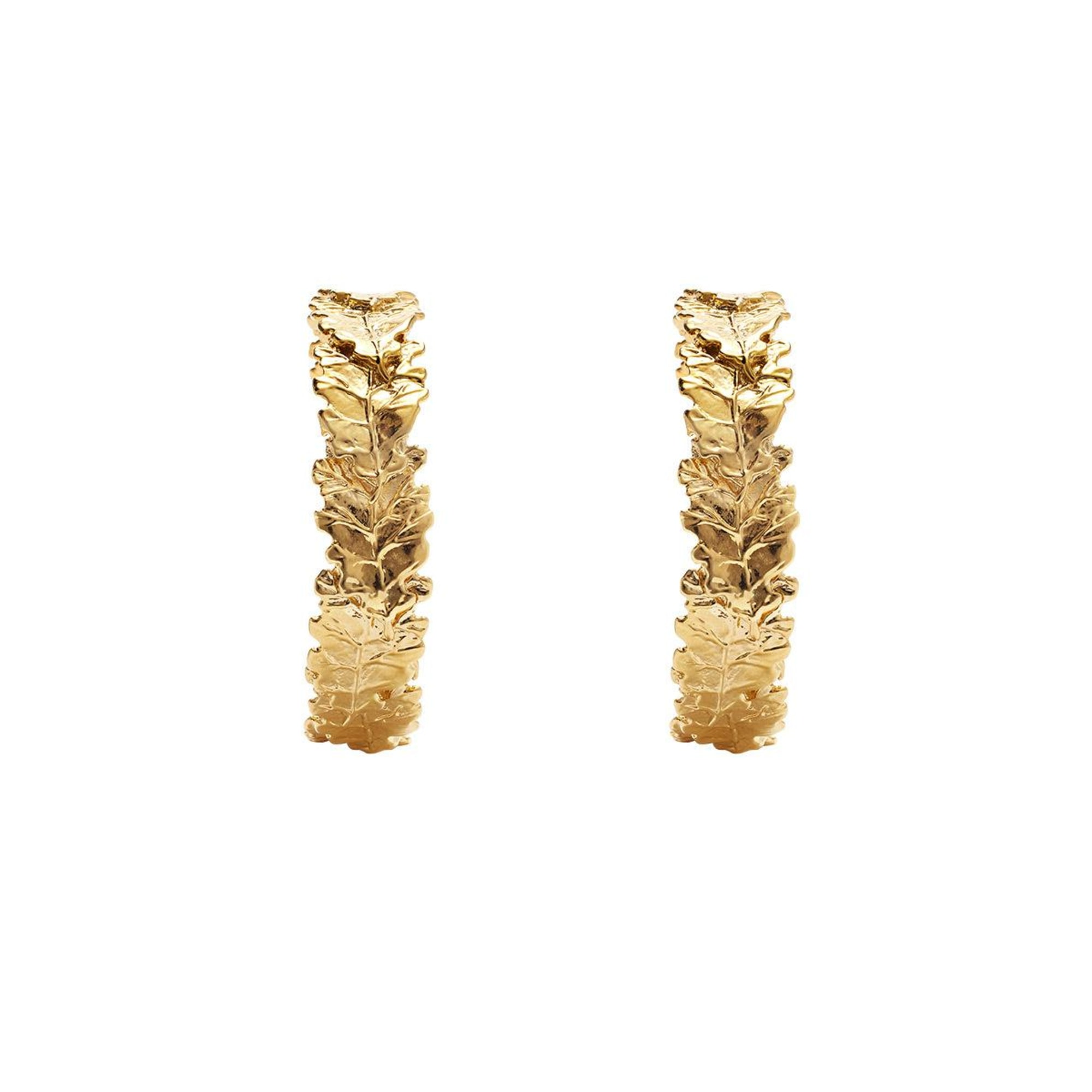 Earrings AURELIE BIDERMANN Golden, bronze, copper