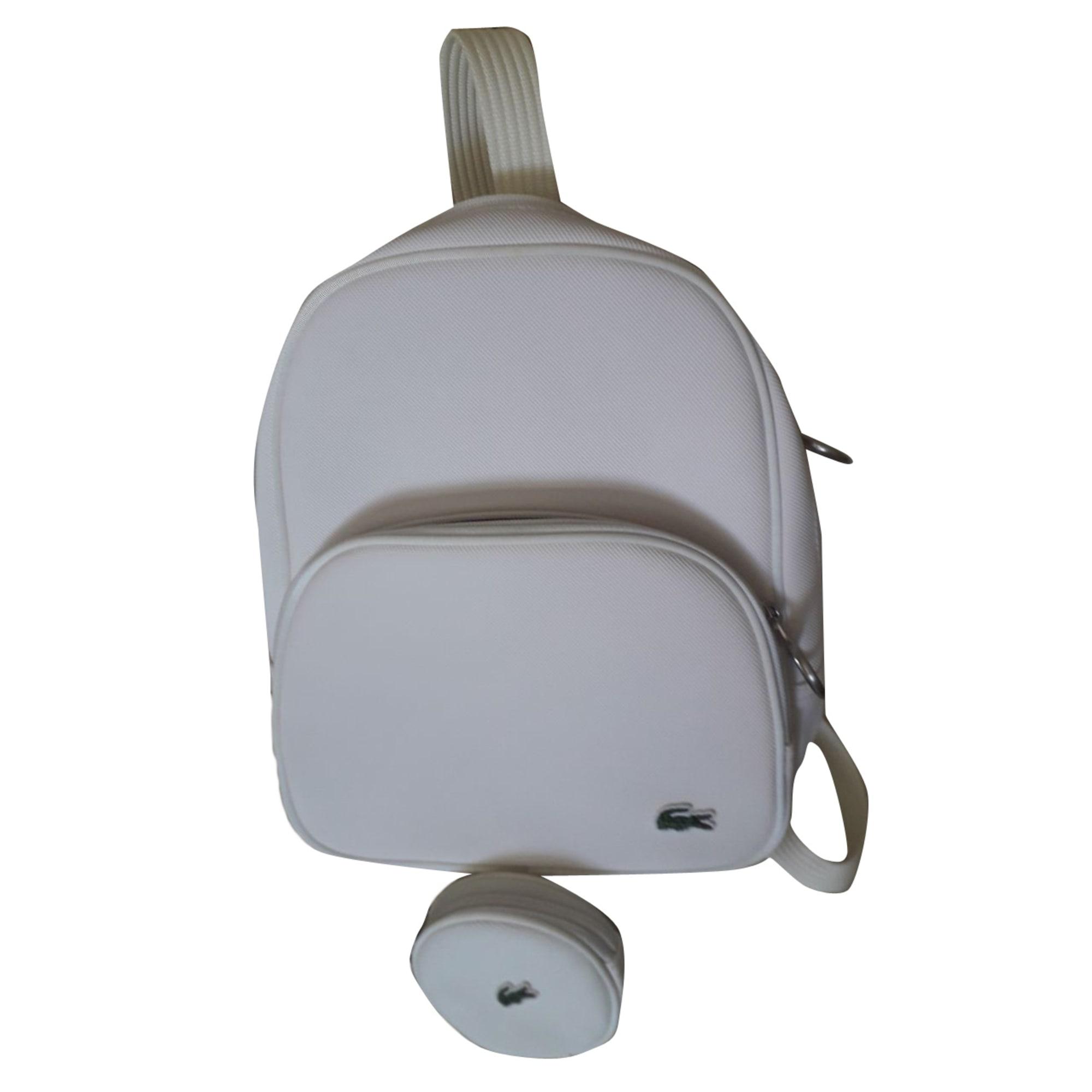 4466318e5a7 Sac à dos LACOSTE blanc vendu par Rej 1302 - 7929999